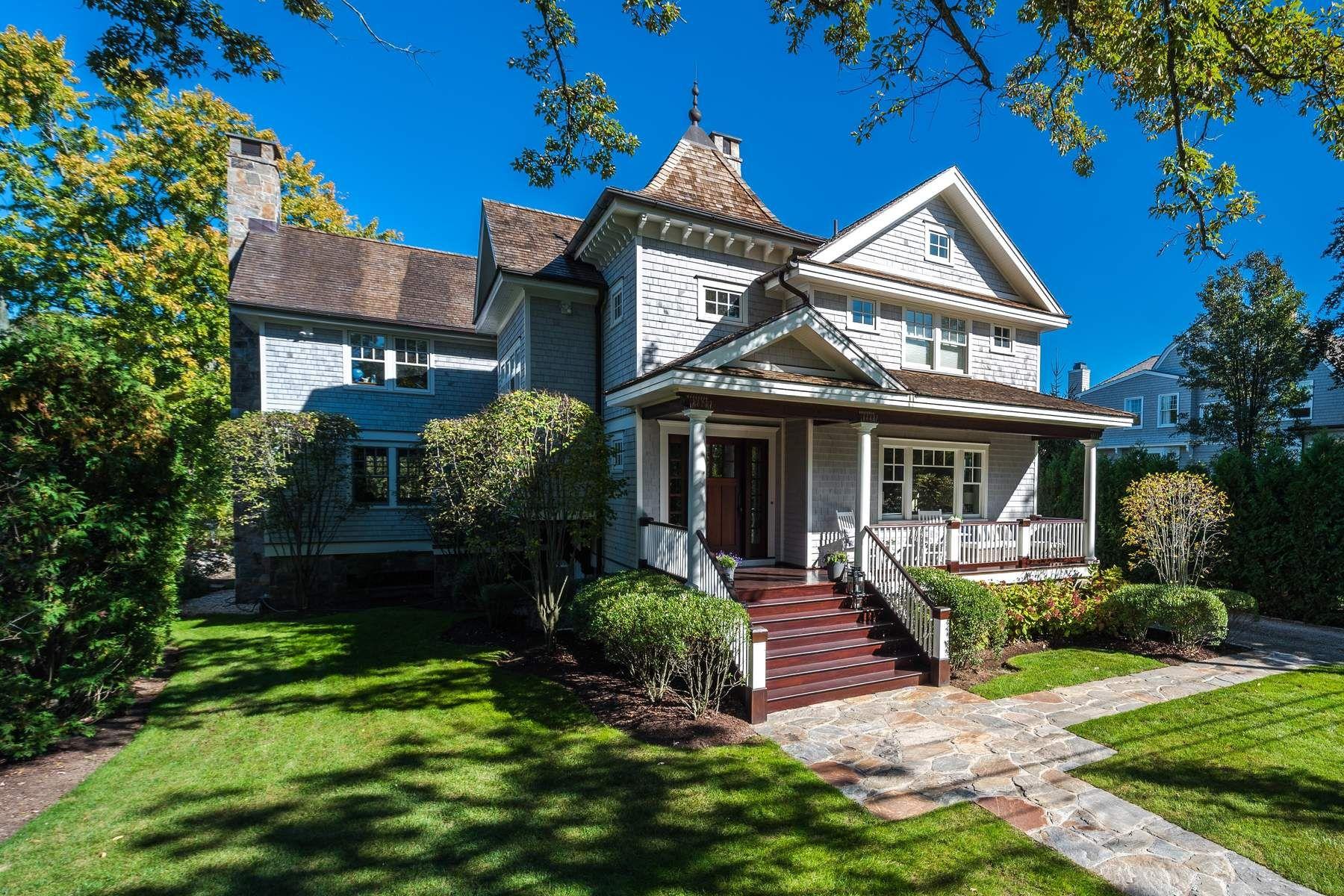 Casa Unifamiliar por un Venta en 12 Ledge Road 12 Ledge Road Old Greenwich, Connecticut 06870 Estados Unidos