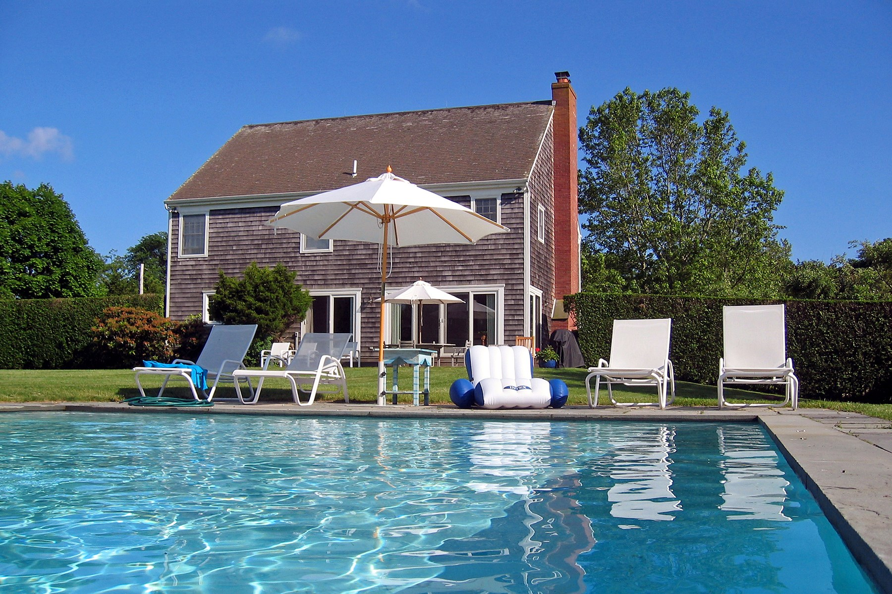 Single Family Home for Rent at Sagaponack Classic South of the Highway Sagaponack, New York 11962 United States