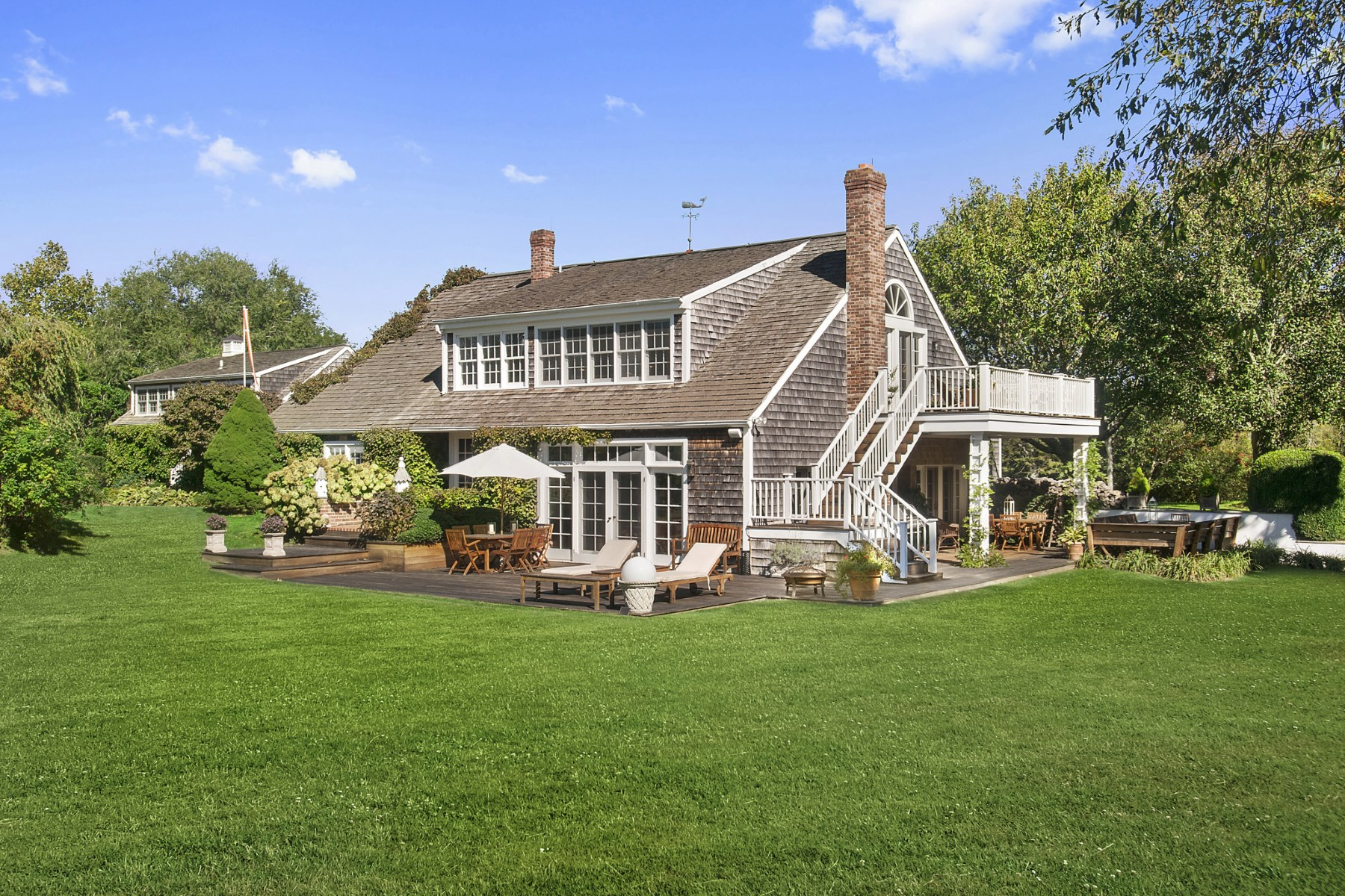 Single Family Home for Rent at Sagaponack South 16 Old Barn Lane Sagaponack, New York 11962 United States
