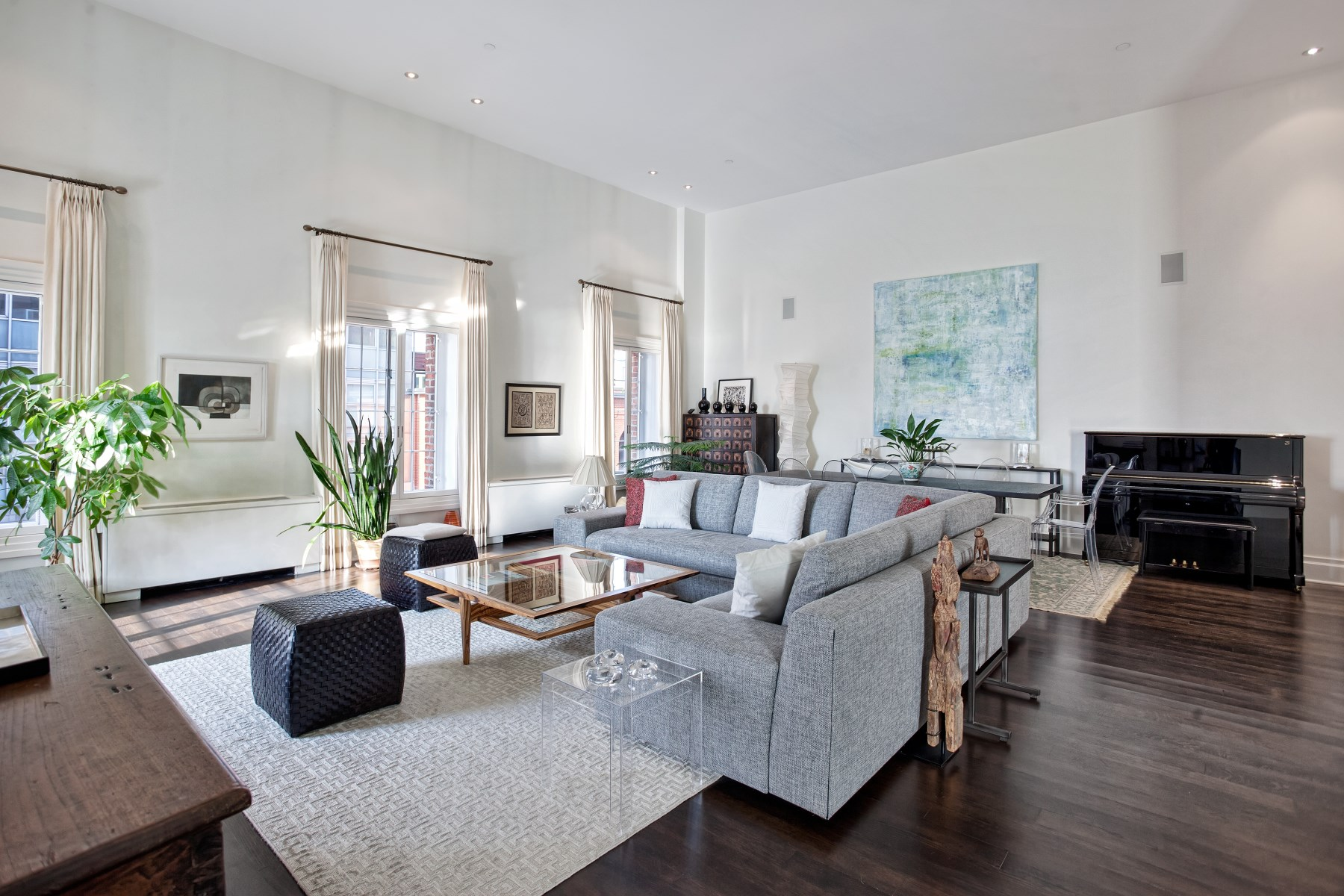 Additional photo for property listing at Corner PH Duplex Loft w/ Outdoor Space 79 Laight Street Apt 6D New York, New York 10013 United States