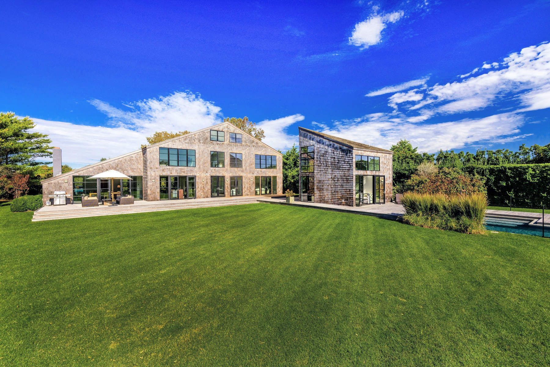 Single Family Homes for Sale at Modern Chic Personified 811 Halsey Lane Bridgehampton, New York 11932 United States
