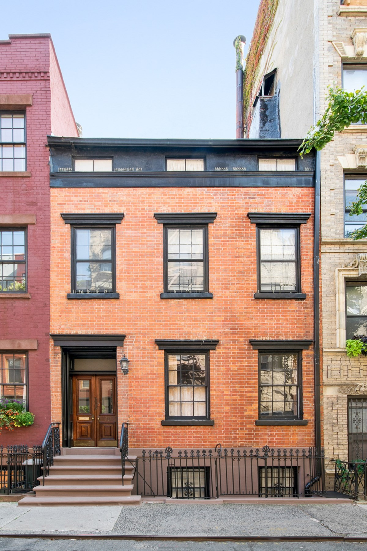Townhouse for Sale at Half a House 20 Leroy Street Garden Duplex, West Village, New York, New York, 10014 United States