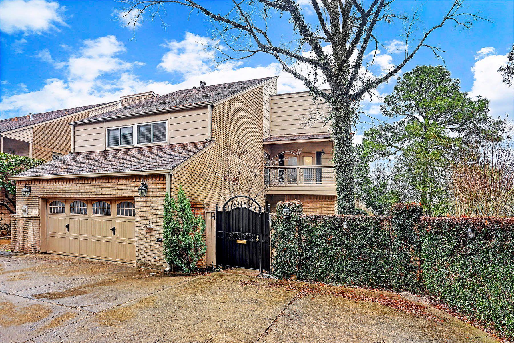 联栋屋 为 销售 在 1112 Nantucket Drive 1112 Nantucket Drive Unit A, Westhaven Estates, 休斯顿, 得克萨斯州, 77057 美国