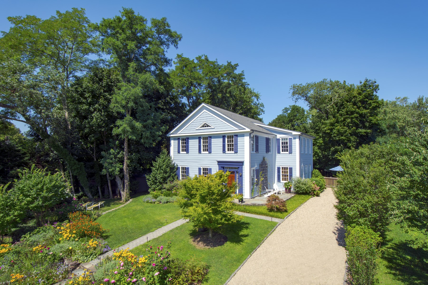 Single Family Home for Sale at Coveted Village Privacy Sag Harbor, New York 11963 United States
