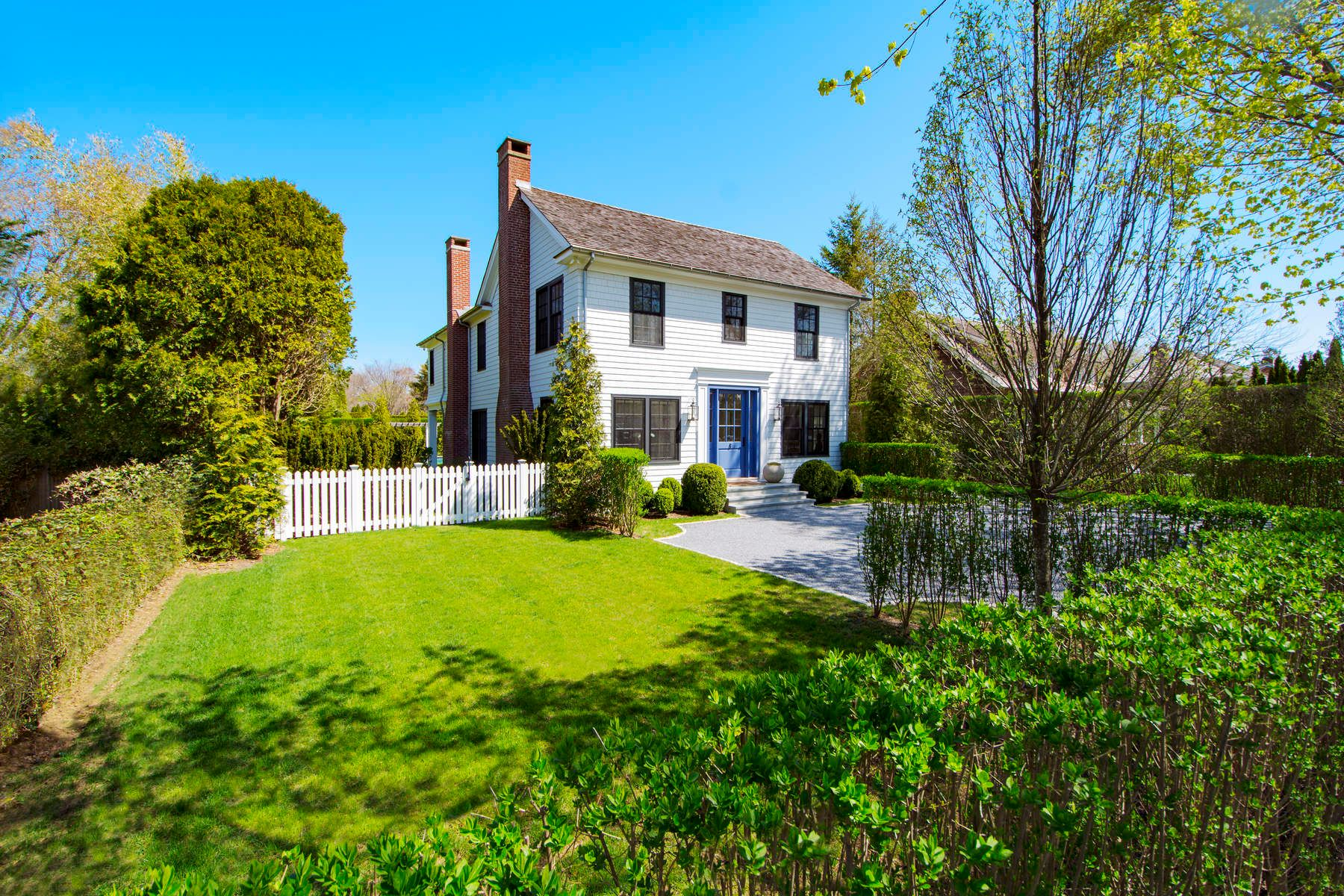 Single Family Home for Sale at World-Class Renovated Village Home 21 Old Town Crossing Southampton, New York 11968 United States