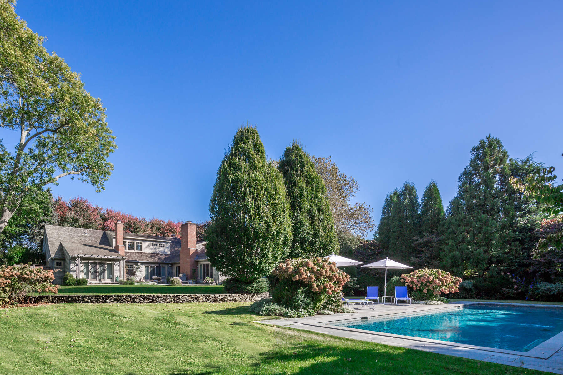 Single Family Home for Rent at East Hampton Village Oasis. East Hampton, New York 11937 United States
