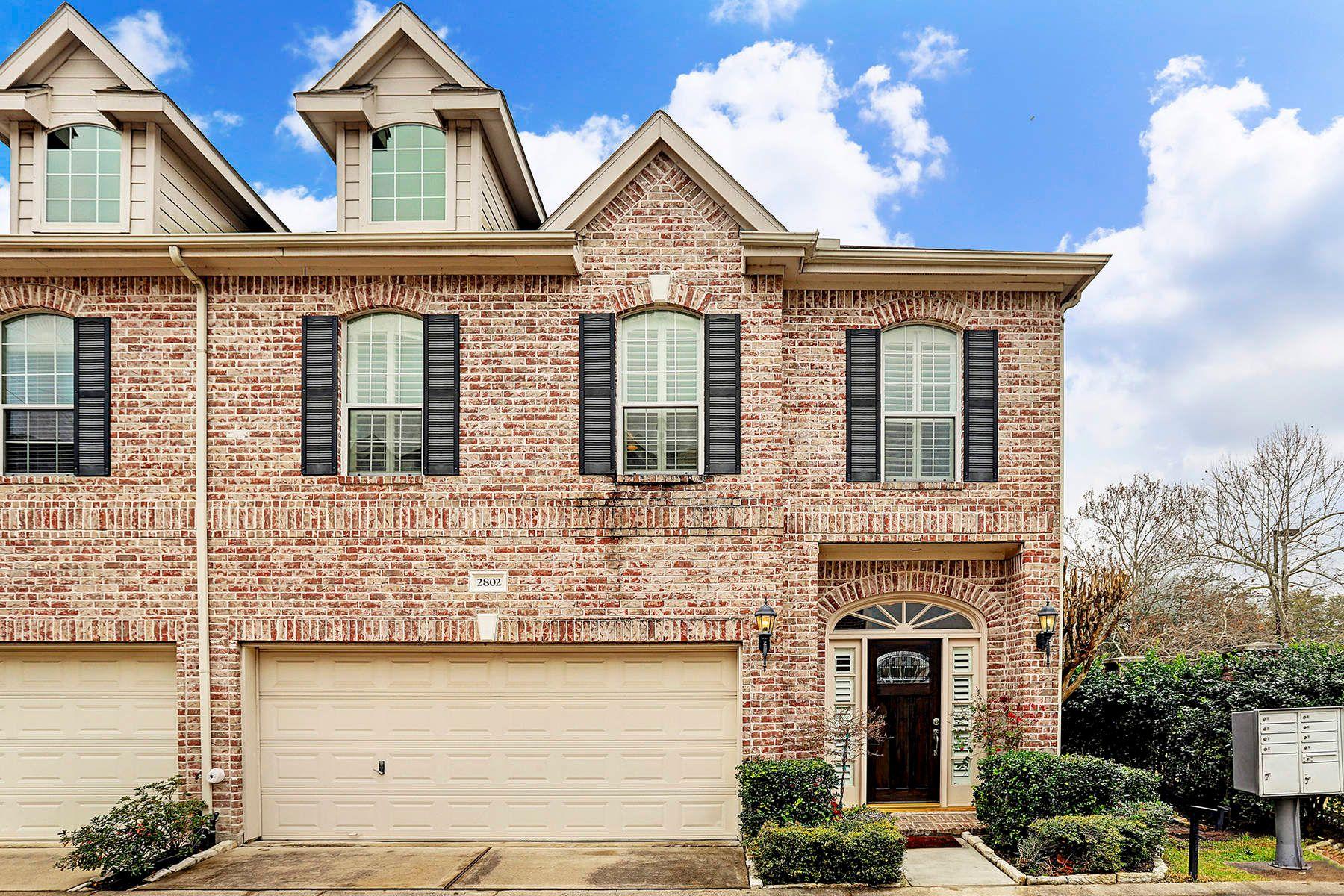 Кондоминиум для того Продажа на 2802 Val Verde Court Houston, Техас, 77057 Соединенные Штаты