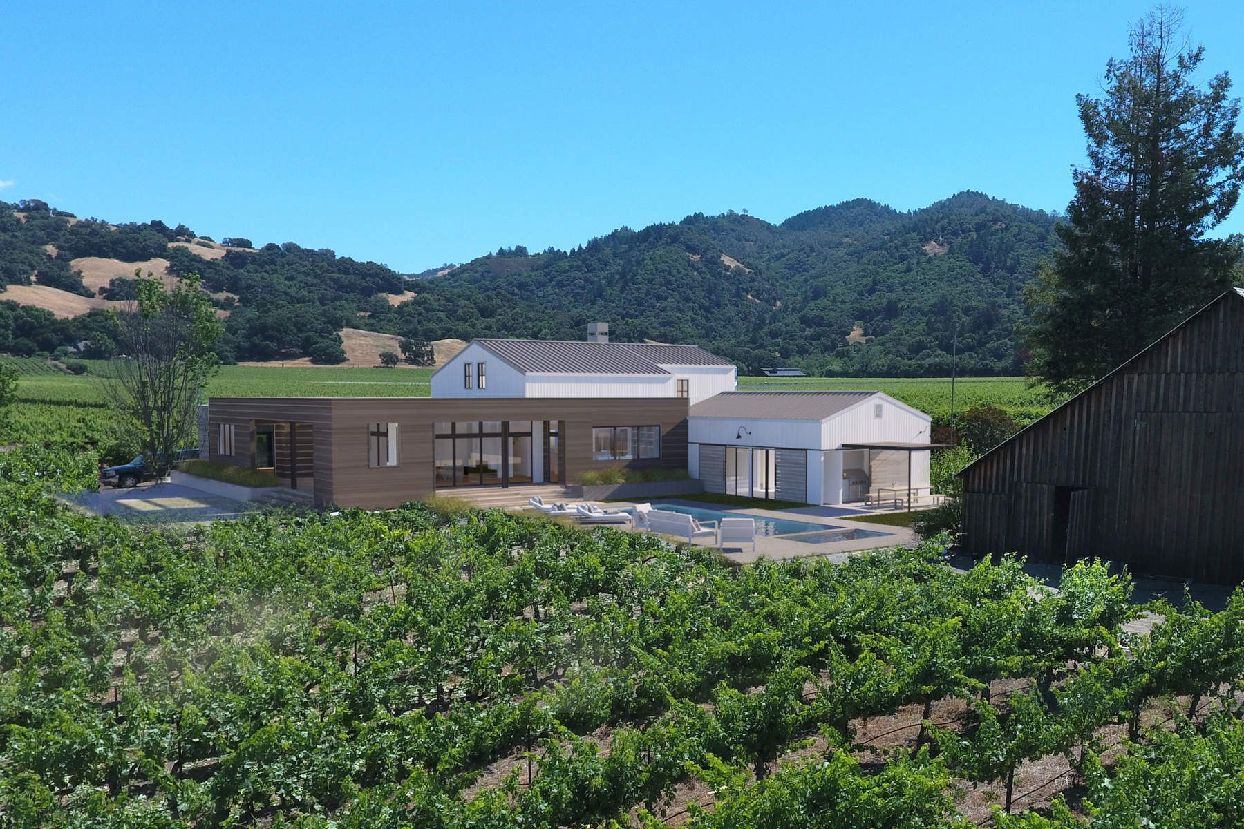 Single Family Home for Sale at 6400 Red Winery Road 6400 Red Winery Rd Geyserville, California 95441 United States