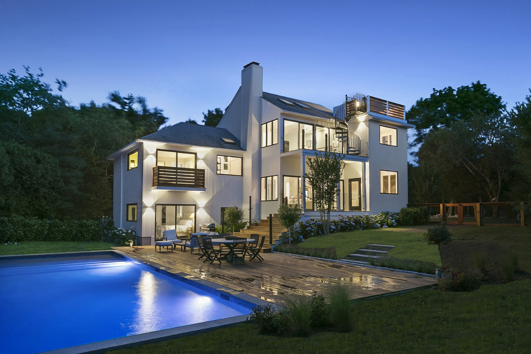 Vivienda unifamiliar por un Venta en Sleek, Chic And Modern 54 Whitney Road, Sag Harbor, Nueva York, 11963 Estados Unidos