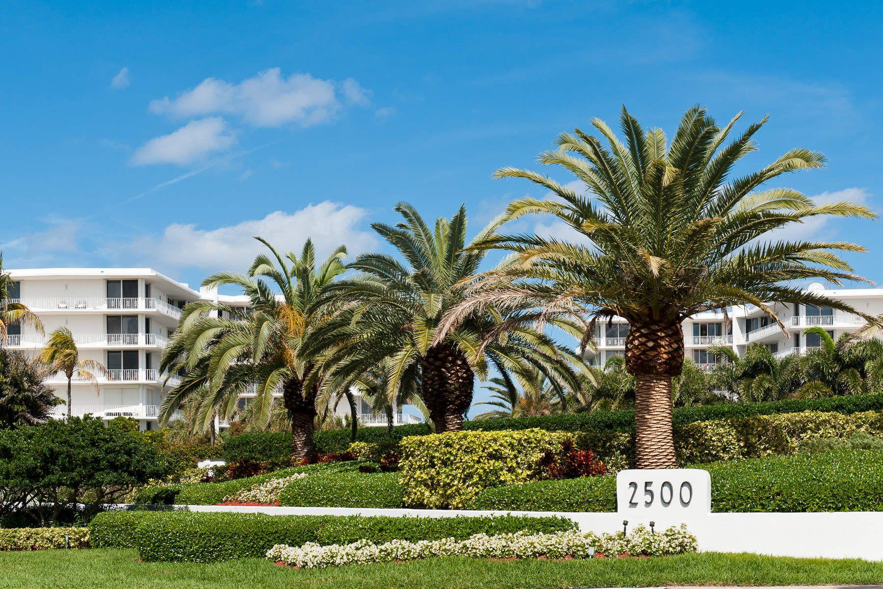 共管式独立产权公寓 为 销售 在 Ocean to Lake Tropical Paradise 2500 S Ocean Blvd 1-D-1, 棕榈滩, 佛罗里达州, 33480 美国