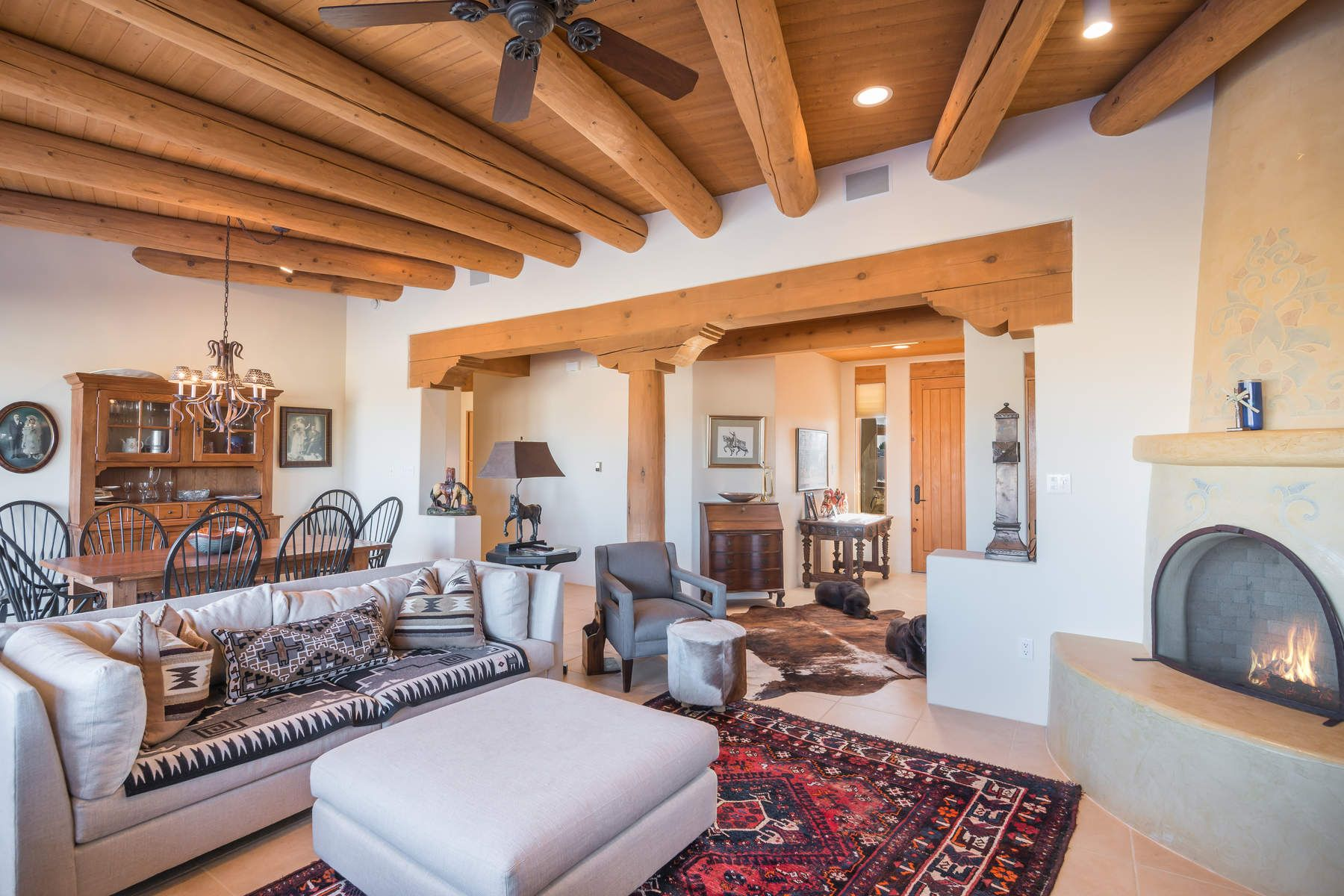 Single Family Home for Sale at 7 Cagua Road 7 Cagua Rd, Eldorado, Santa Fe, New Mexico, 87508 United States