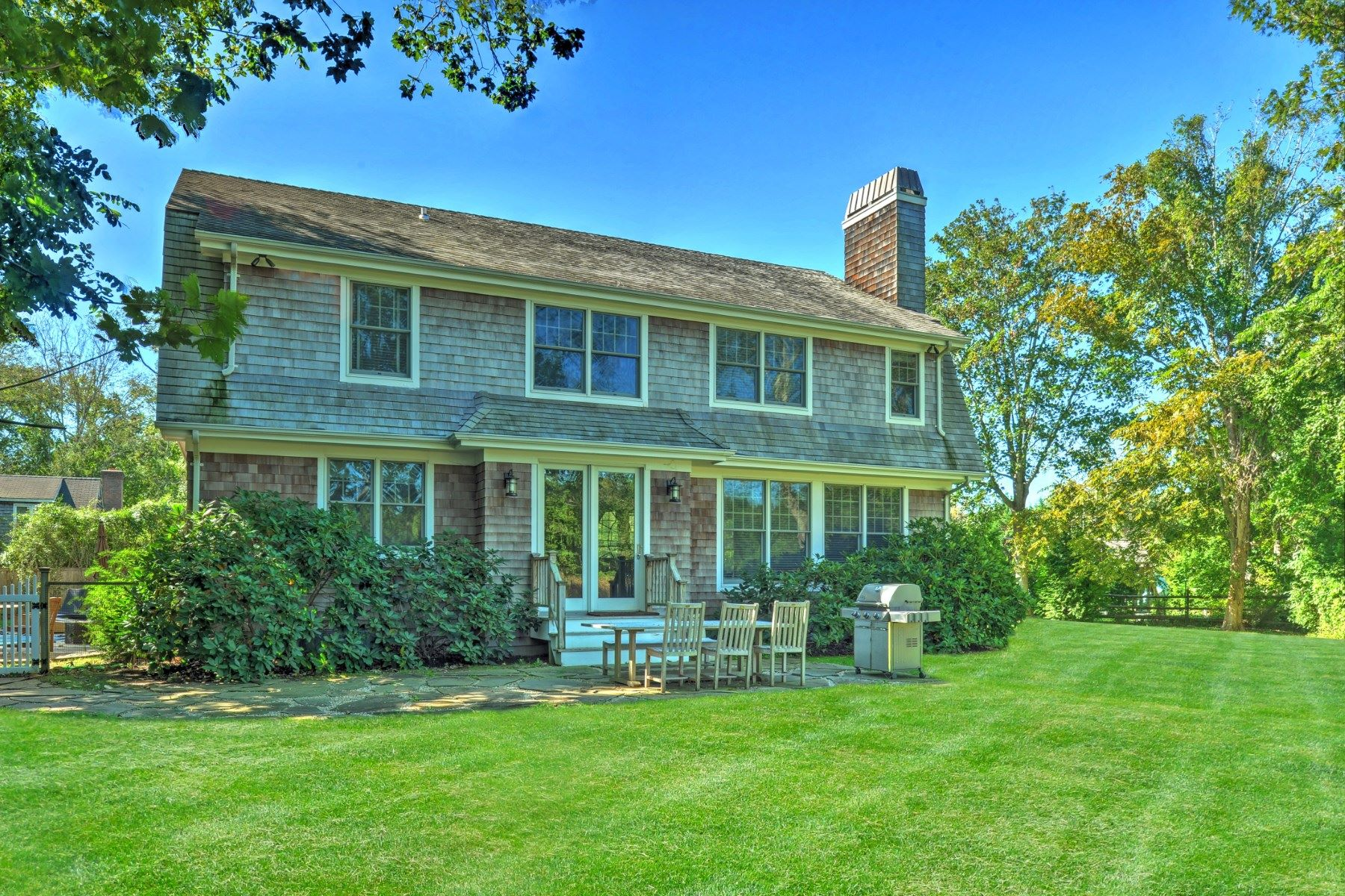 Single Family Home for Rent at Village Traditional Overlooking Reserve 121 Pantigo Road (Deep Flag Lot) East Hampton, New York 11937 United States