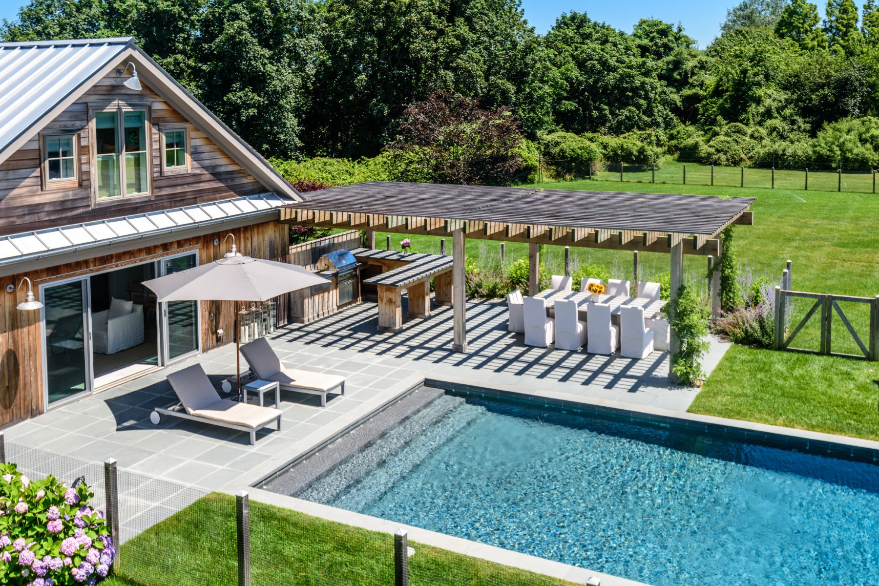 Additional photo for property listing at MODERN BARN STYLE, POND VIEWS 25 Jennifir Lane Bridgehampton, New York 11932 United States