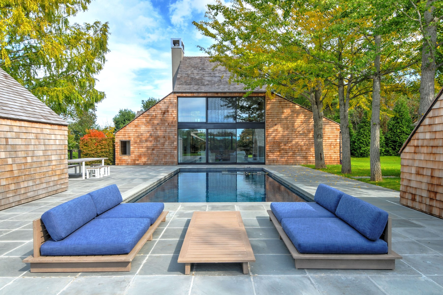 Single Family Home for Rent at Modern Compound Bridgehampton, New York, 11932 United States
