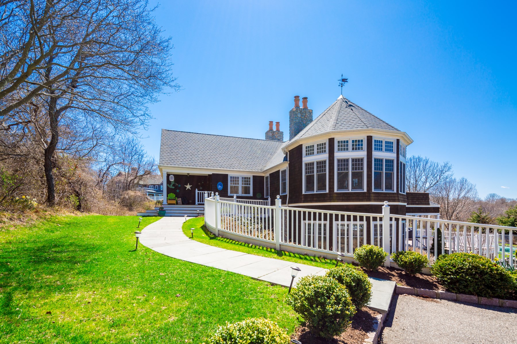 Single Family Home for Rent at Elegant Victorian With Spectacular Views Montauk, New York 11954 United States