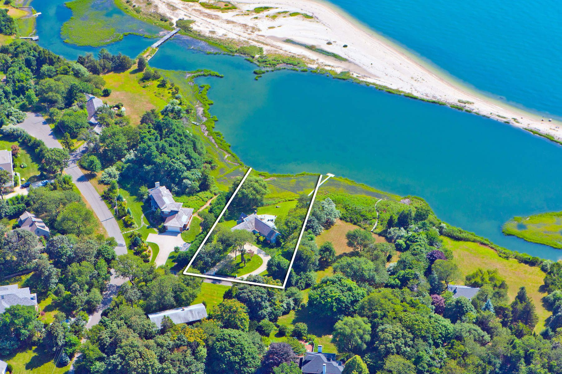 Single Family Home for Sale at Exceptional Waterfront in Sag Harbor Sag Harbor, New York 11963 United States
