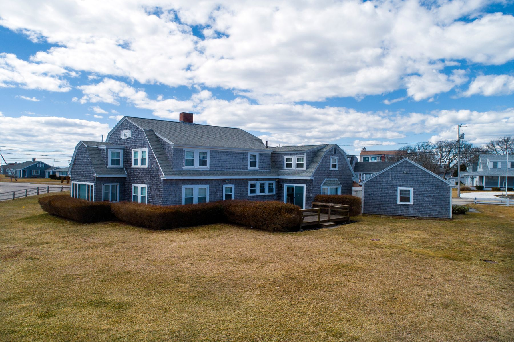 Single Family Home for Active at Ocean Views And Private Beach Rights 6 Ocean Avenue East Falmouth, Massachusetts 02536 United States