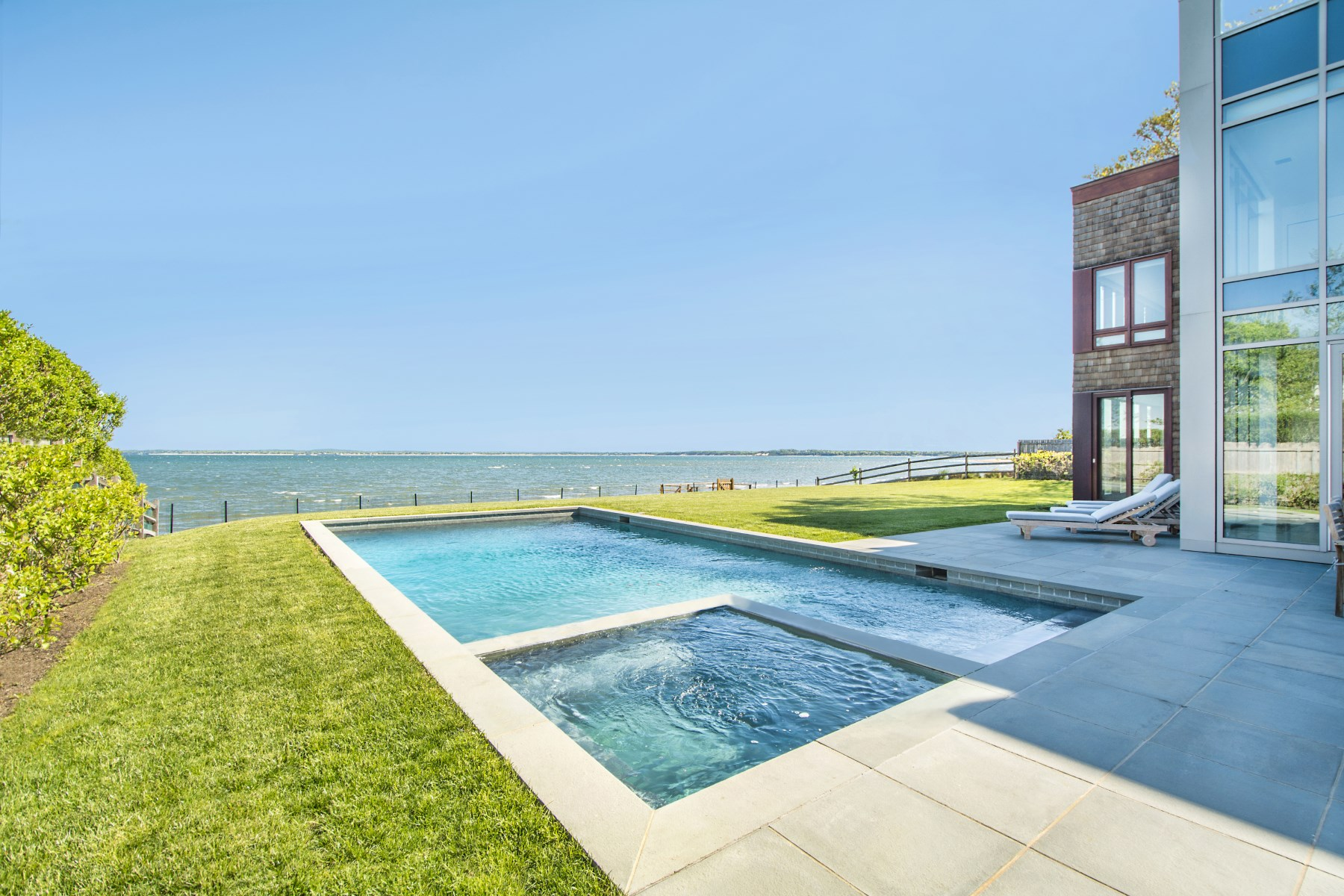 Single Family Home for Sale at Sag Harbor Spectacular Waterfront 43 Noyack Bay Avenue Sag Harbor, New York 11963 United States
