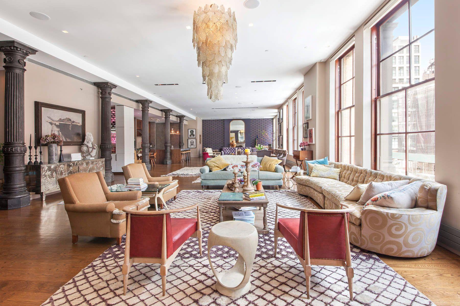 共管物業 為 出售 在 Brilliant Sunlight - Entertainers Dream! 140 Franklin Street, Tribeca, New York, 紐約州, 10013 美國