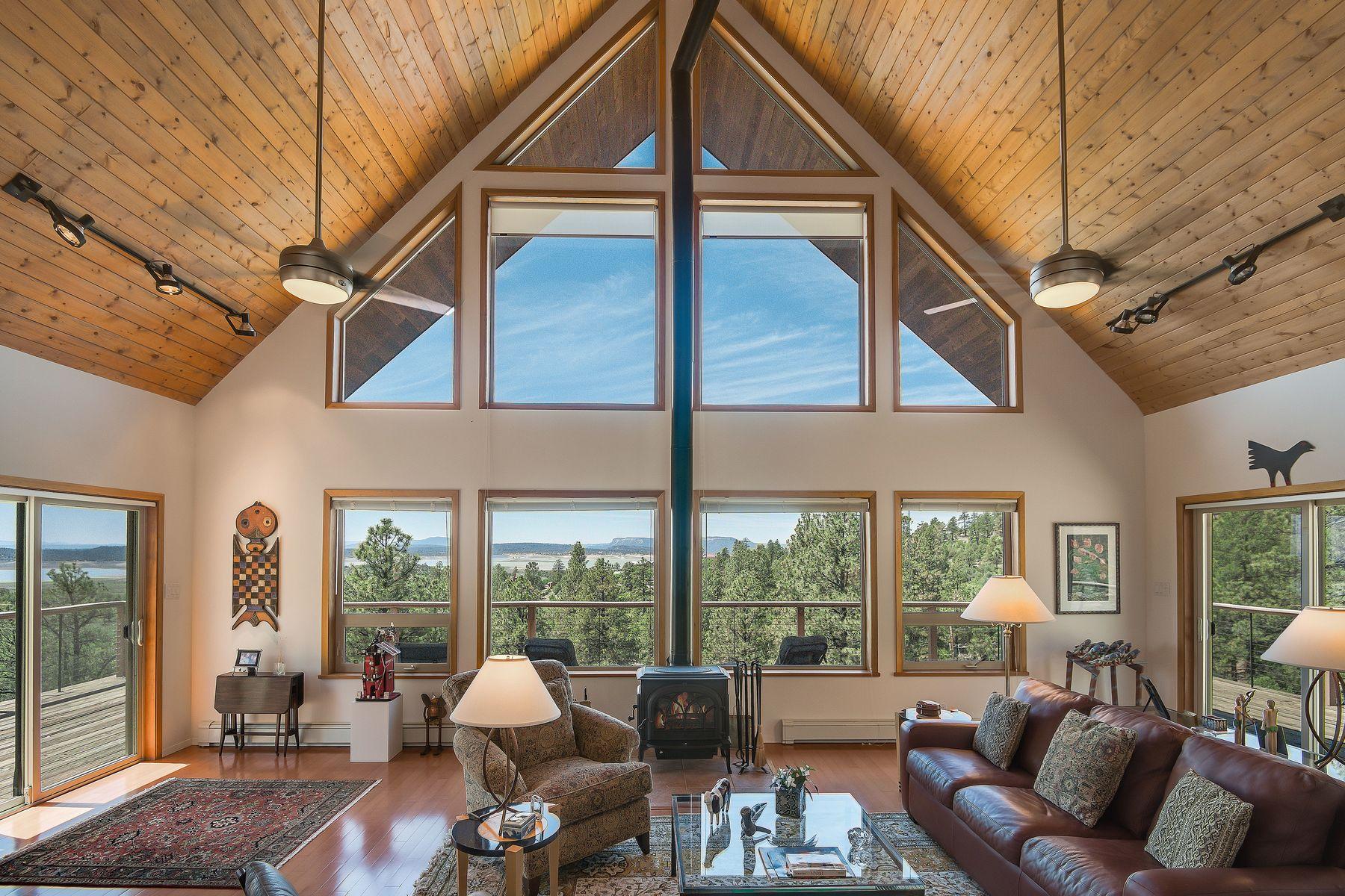 Single Family Homes للـ Sale في Rutheron, New Mexico 87551 United States