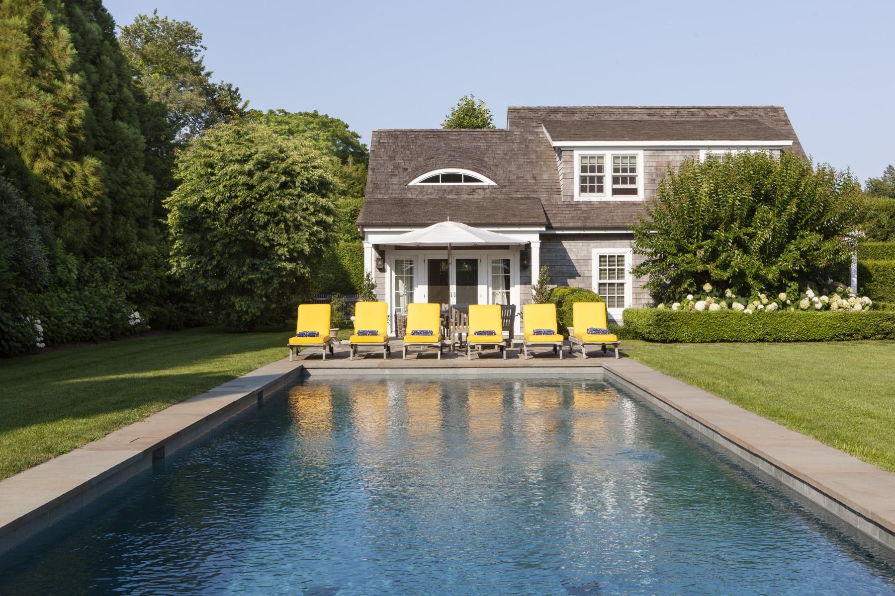 Einfamilienhaus für Mieten beim Estate Property East Hampton Village, East Hampton, New York, 11937 Vereinigte Staaten