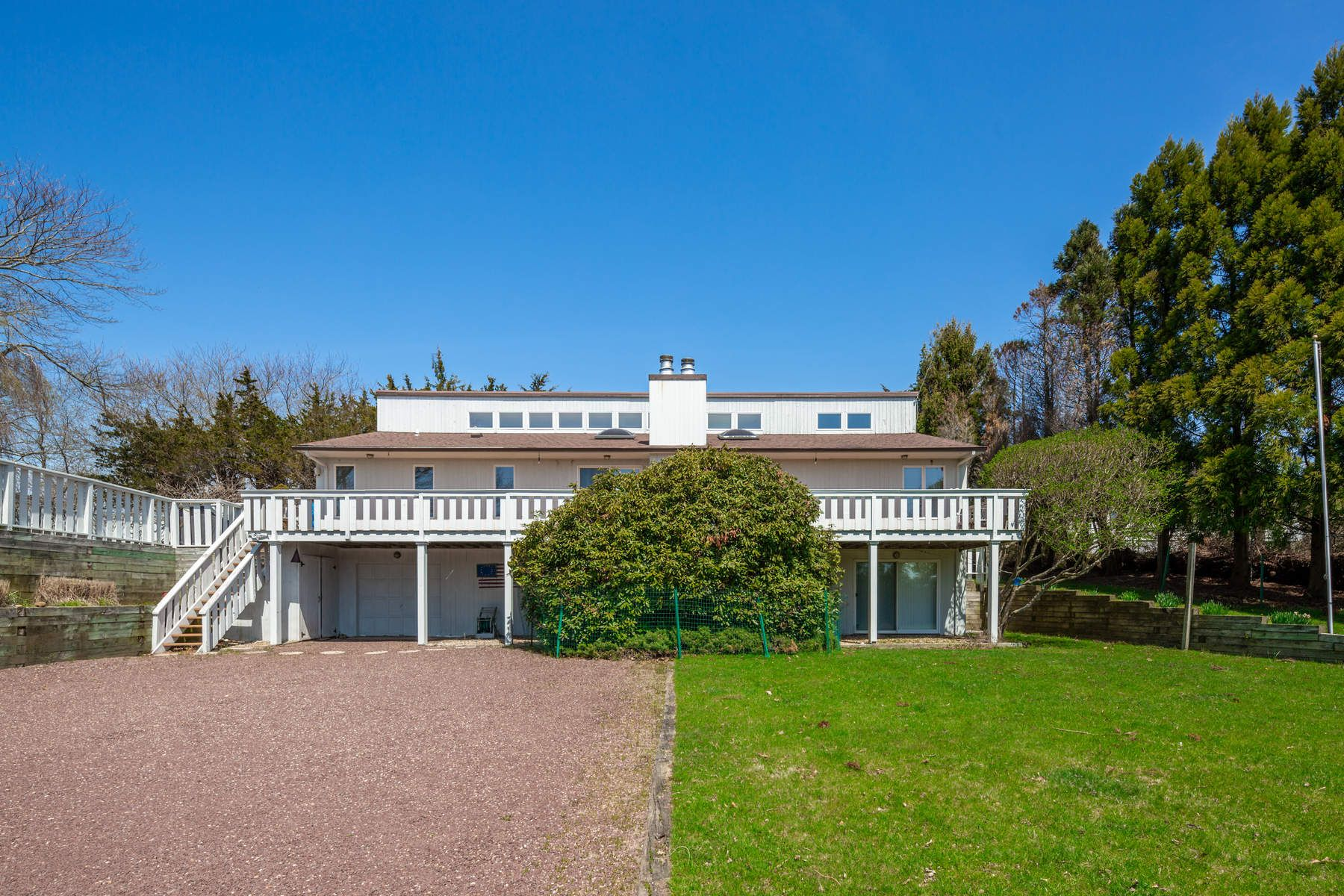 Single Family Home for Sale at Elevated Montauk Home 14 Freemont Road Montauk, New York 11954 United States