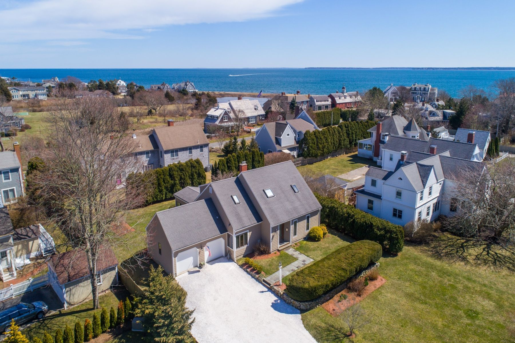 Single Family Home for Active at The Essence of Cape Cod Living 254 Shore Street Falmouth, Massachusetts 02540 United States