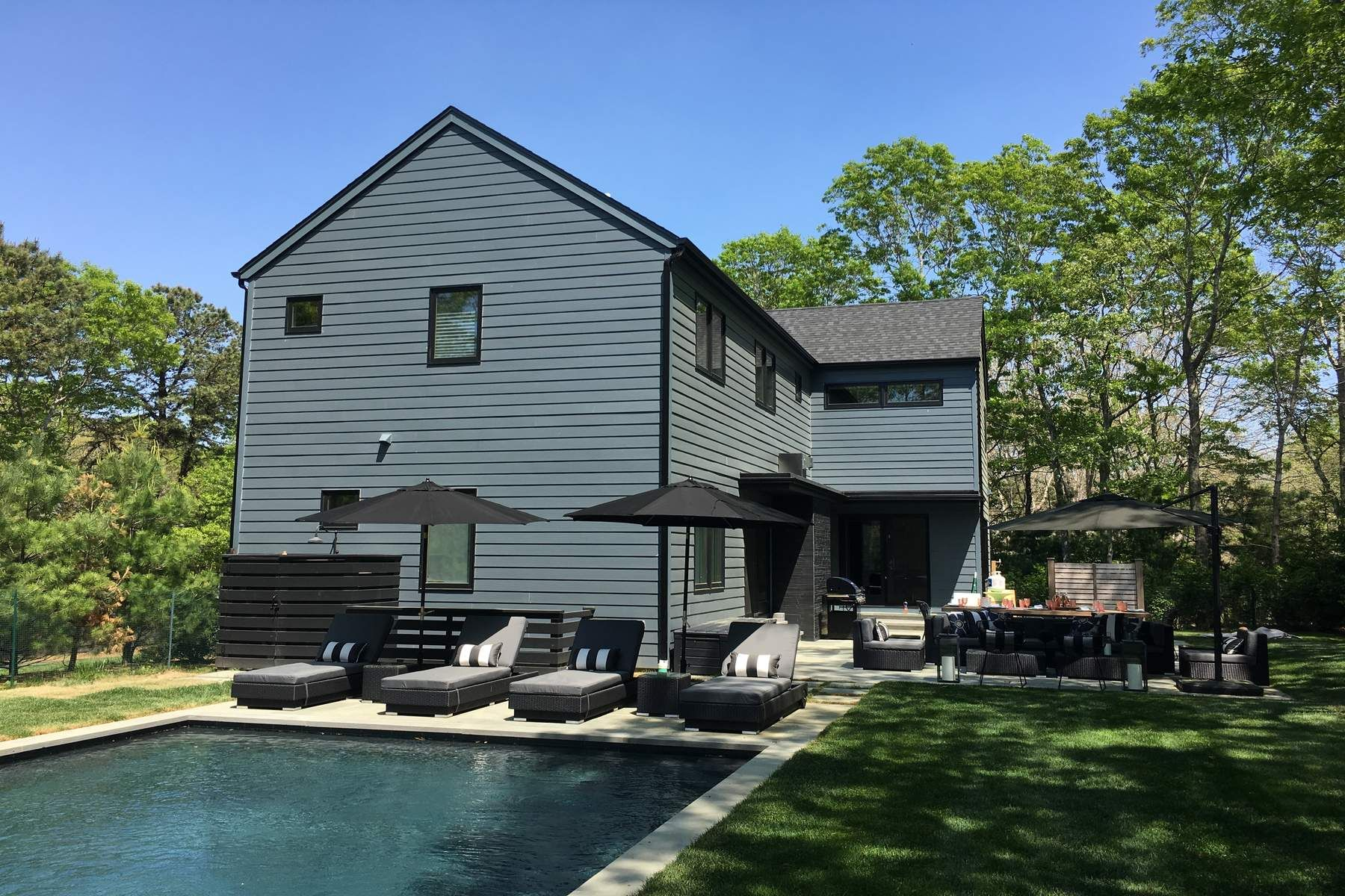 Single Family Home for Rent at GREAT STYLE WITH POOL IN EAST HAMPTON East Hampton, New York 11937 United States