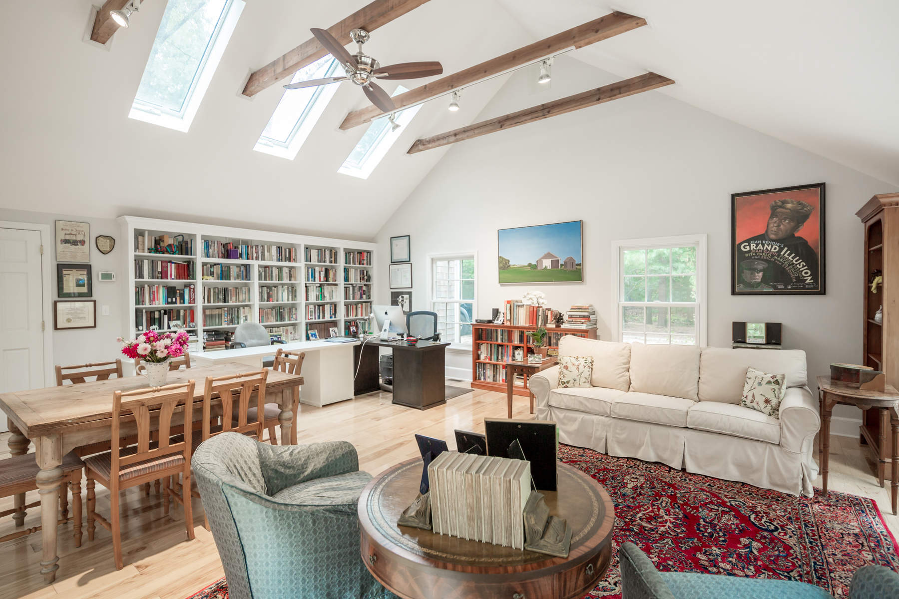 Single Family Home for Rent at New Bright & Airy Sagaponack Rental 429 Sagg Road Sagaponack, New York 11962 United States