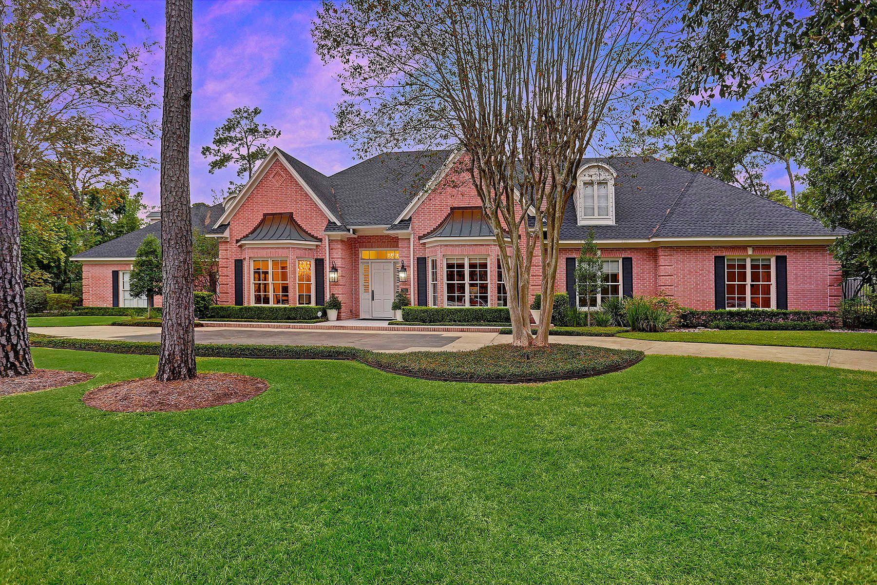 独户住宅 为 销售 在 203 Heritage Oaks Lane 休斯顿, 得克萨斯州, 77024 美国