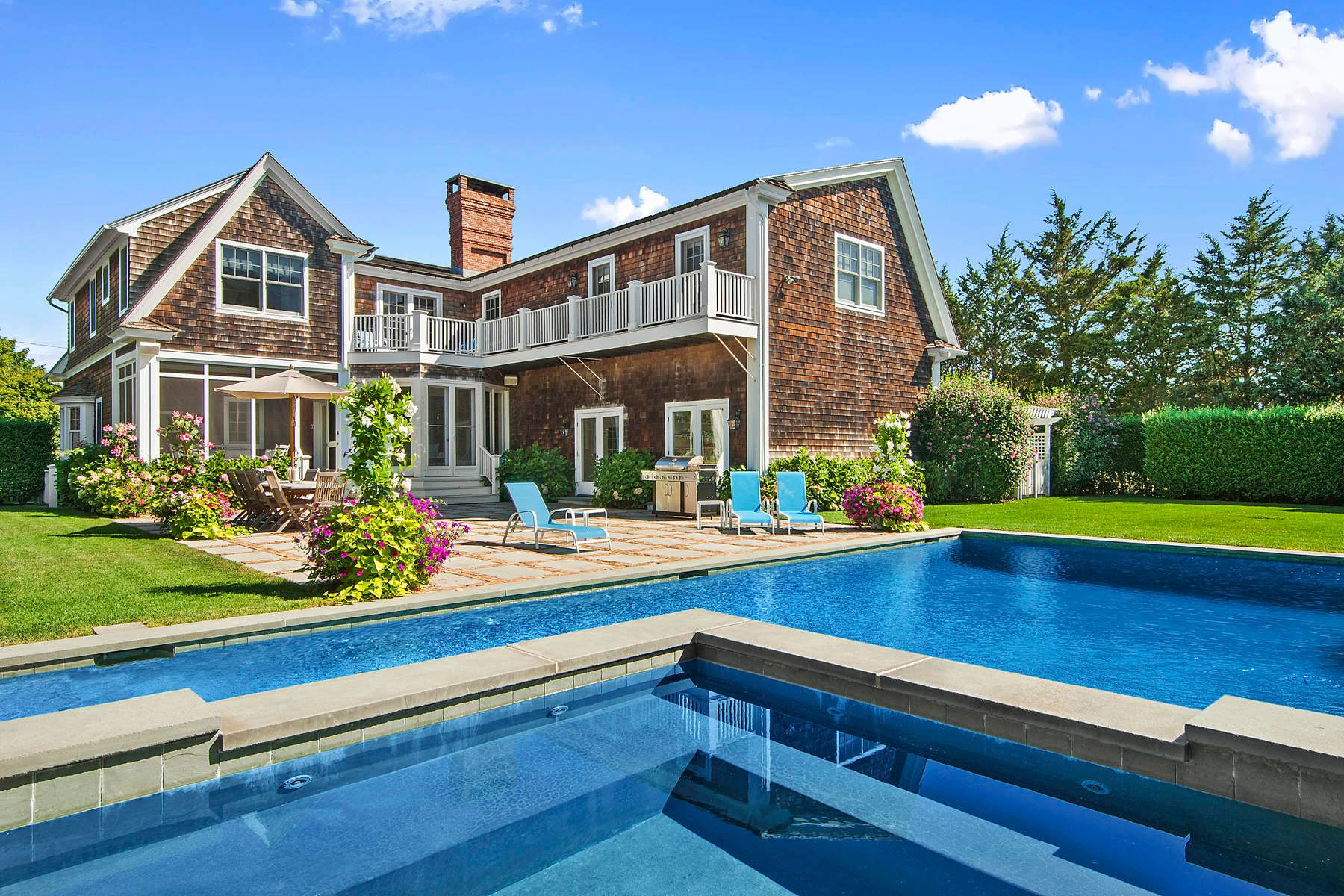 Single Family Home for Rent at On The Edge Of Southampton Village 66 Wiltshire Street Southampton, New York 11968 United States