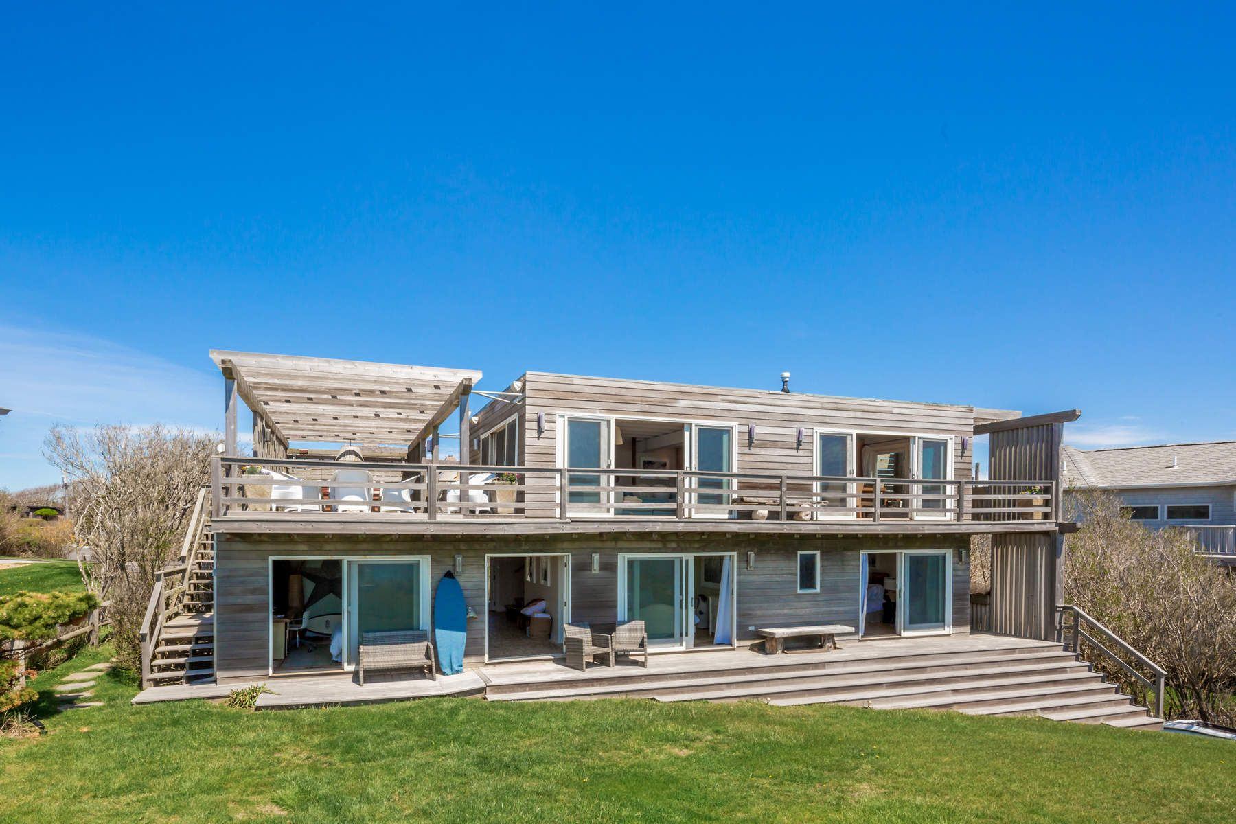 Single Family Home for Sale at Oceanfront Bohemia 102 Surfside Avenue Montauk, New York 11954 United States
