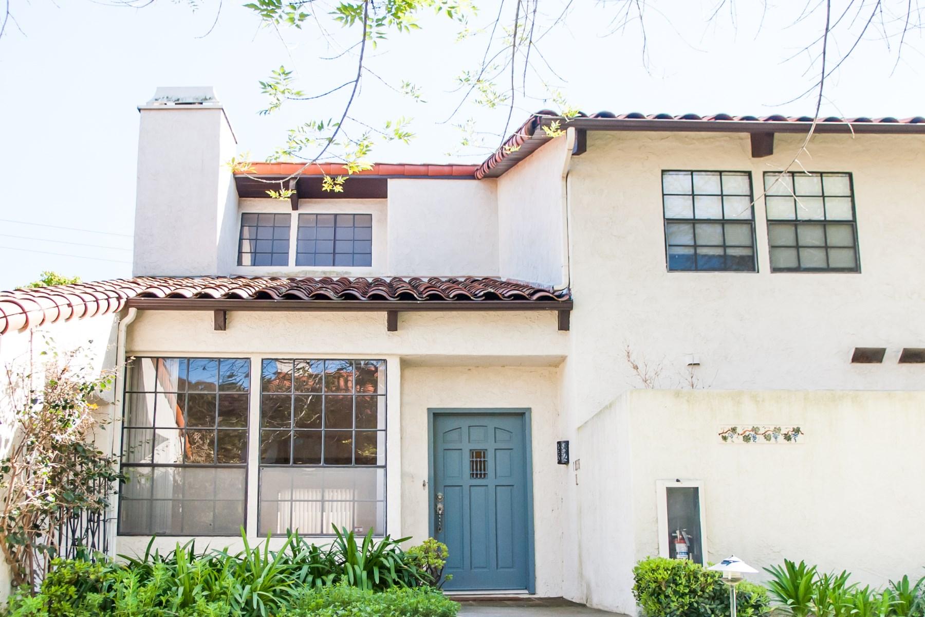 联栋屋 为 销售 在 Sought-After Montecito Townhouse 1944 North Jameson Lane Unit D Montecito - Upper Village, 圣巴巴拉市, 加利福尼亚州, 93108 美国