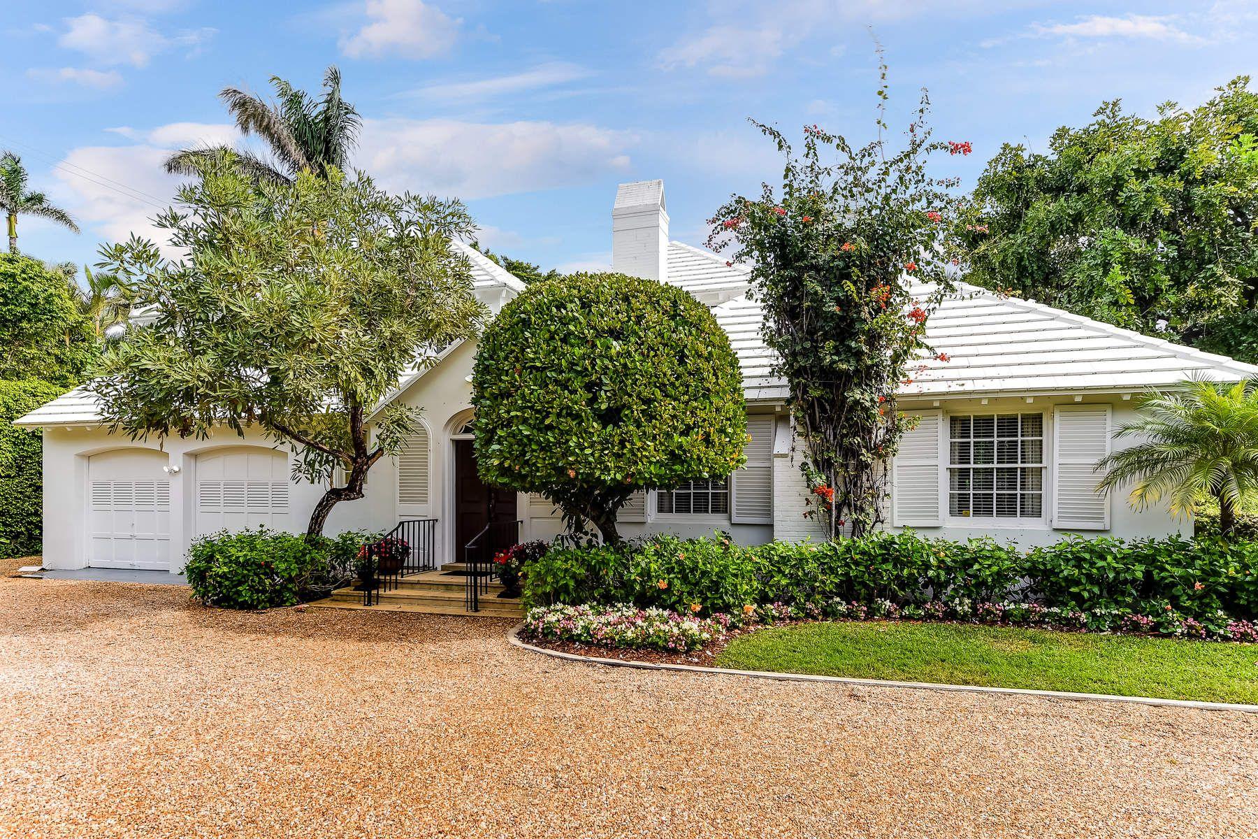 단독 가정 주택 용 매매 에 Classic Palm Beach Property 239 Emerald Ln, North End, Palm Beach, 플로리다, 33480 미국