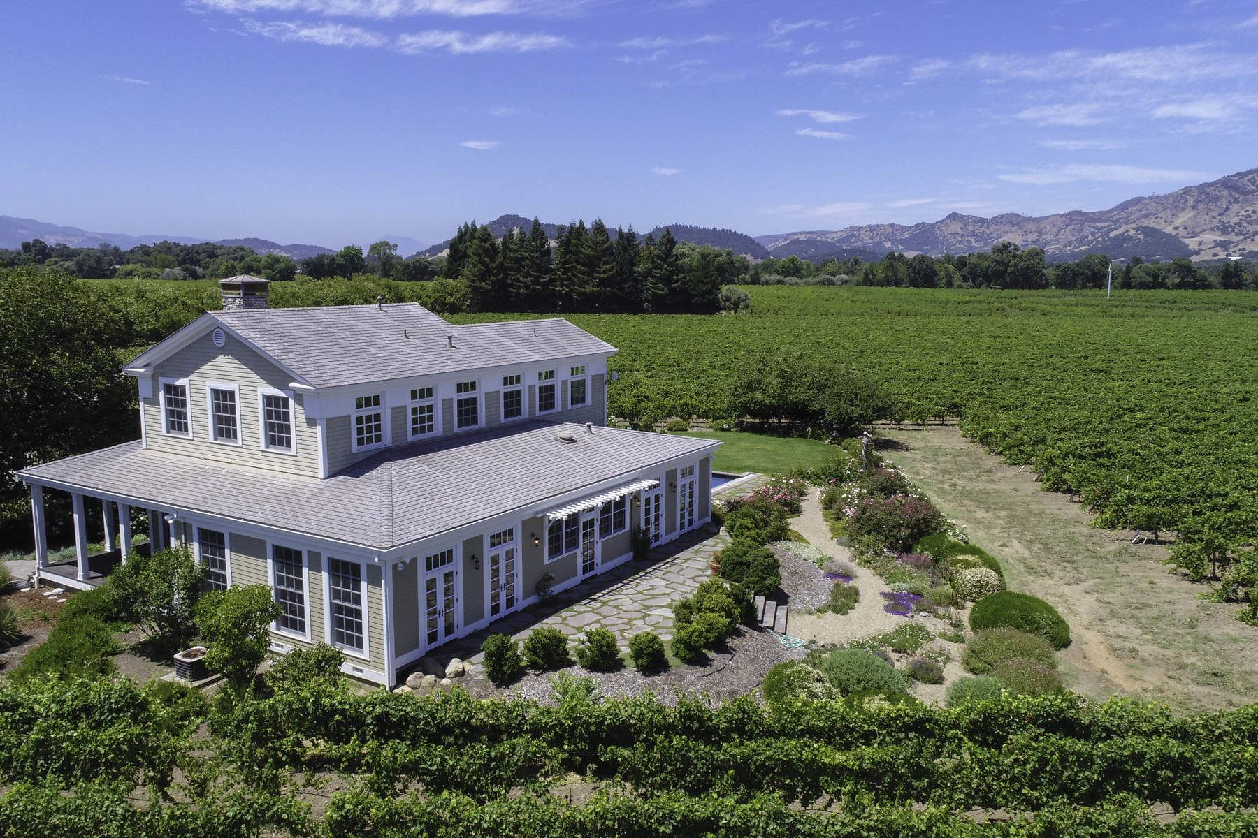 Casa Unifamiliar por un Venta en Napa Valley Vineyard Estate 5224 Big Ranch Rd Napa, California 94558 Estados Unidos