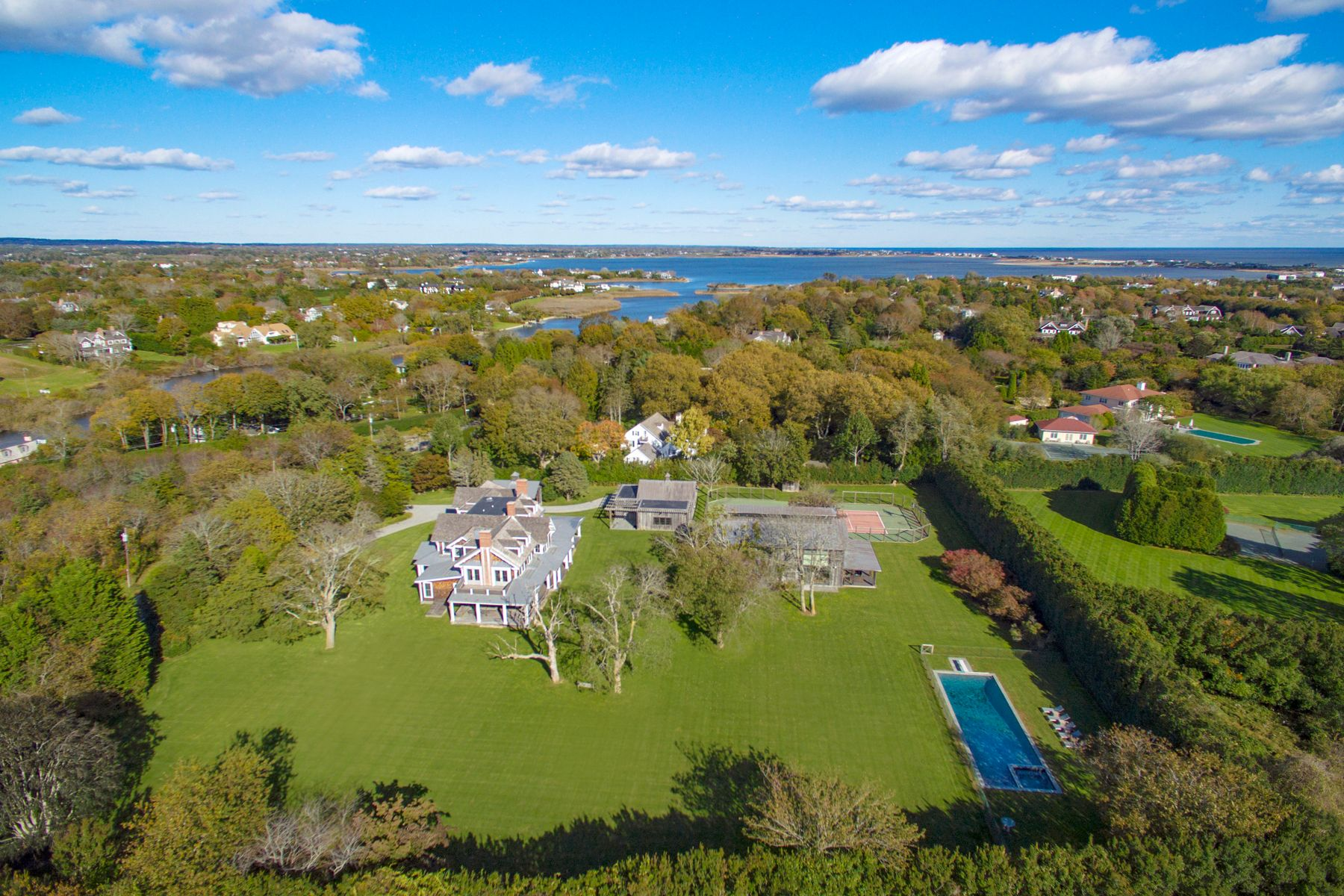 Other Residential for Sale at Flying Point Compound, Pool and Tennis 475 Flying Point Road Water Mill, New York 11976 United States