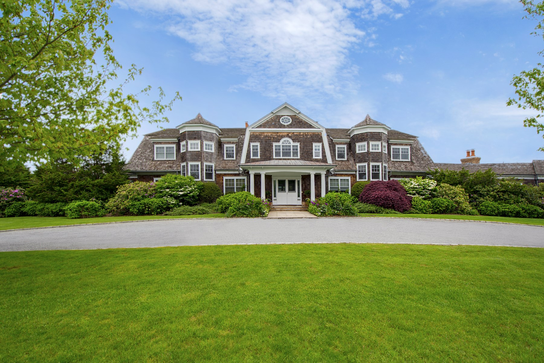 Single Family Home for Rent at Estate Style Home on Ocean Road 704 Ocean Road Bridgehampton, New York 11932 United States