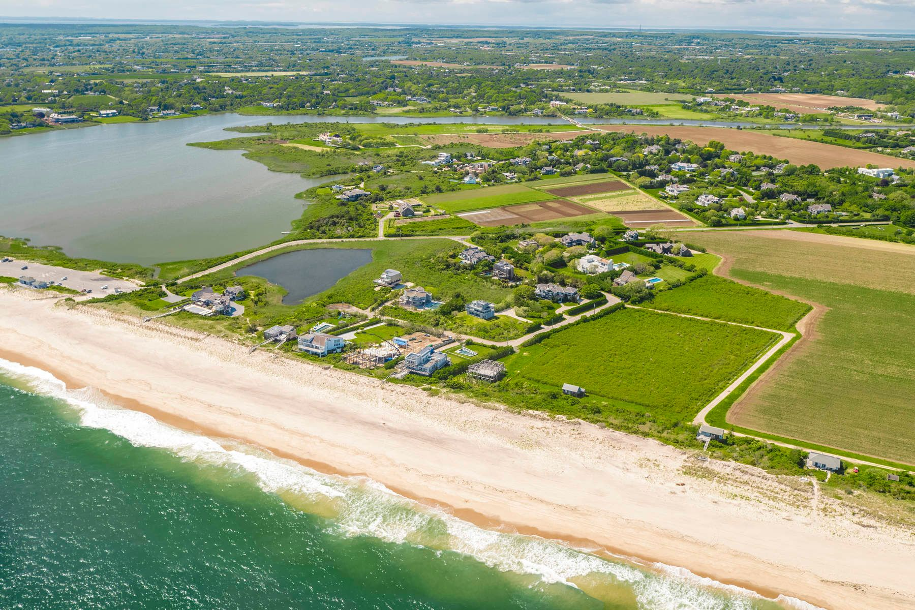 Single Family Home for Sale at Sagaponack Ocean Sunrises & Pond Sunsets 59 Sandune Court Sagaponack, New York 11962 United States