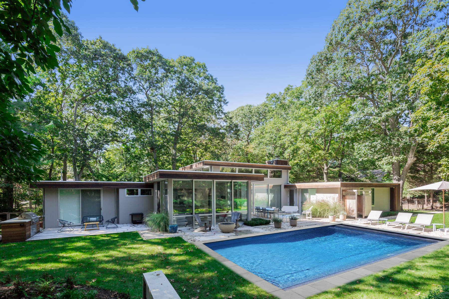 Single Family Home for Rent at Sag Harbor Modern Style Sag Harbor, New York 11963 United States