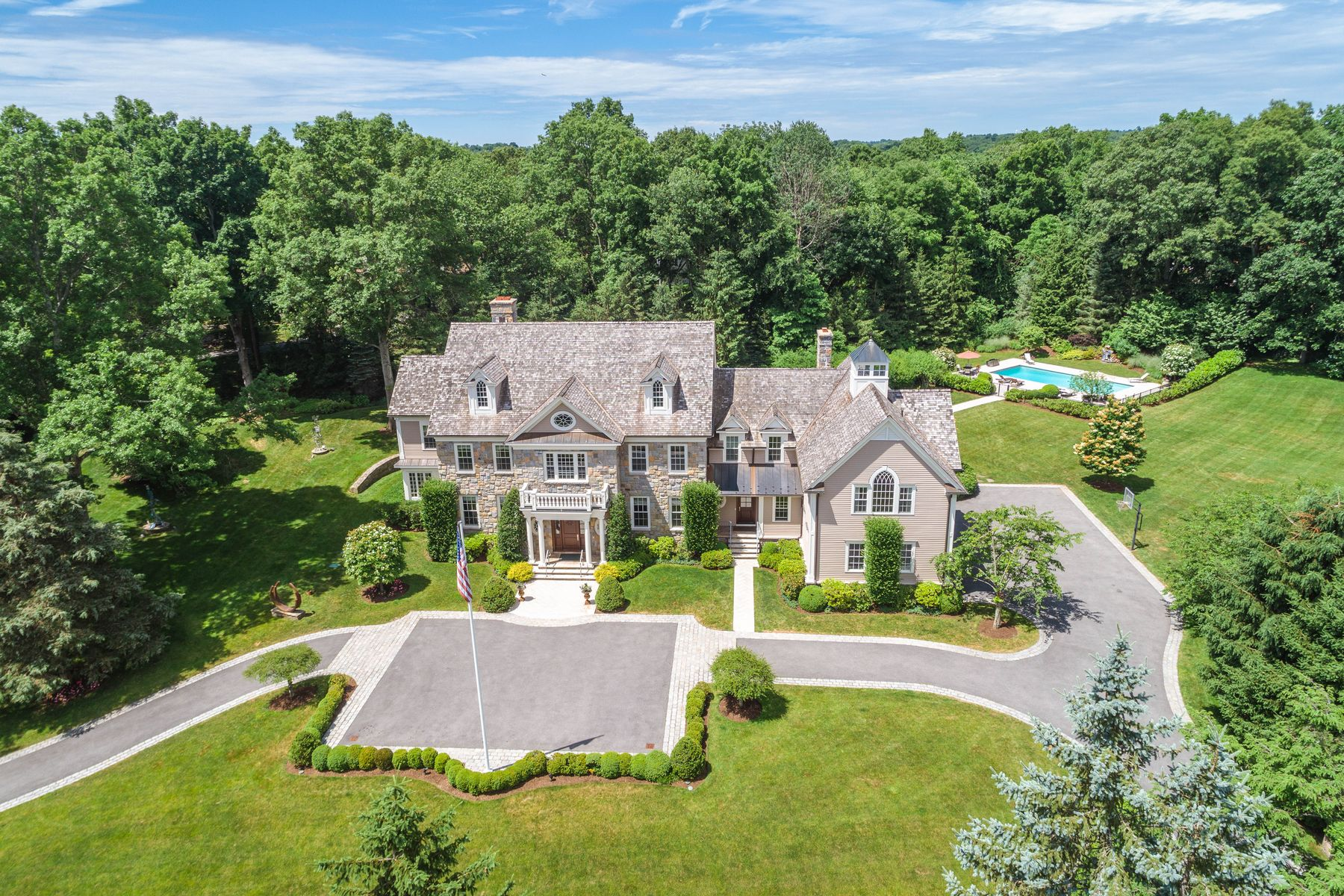 Single Family Home for Sale at 25 Orchard Hill Lane 25 Orchard Hill Lane Greenwich, Connecticut 06831 United States