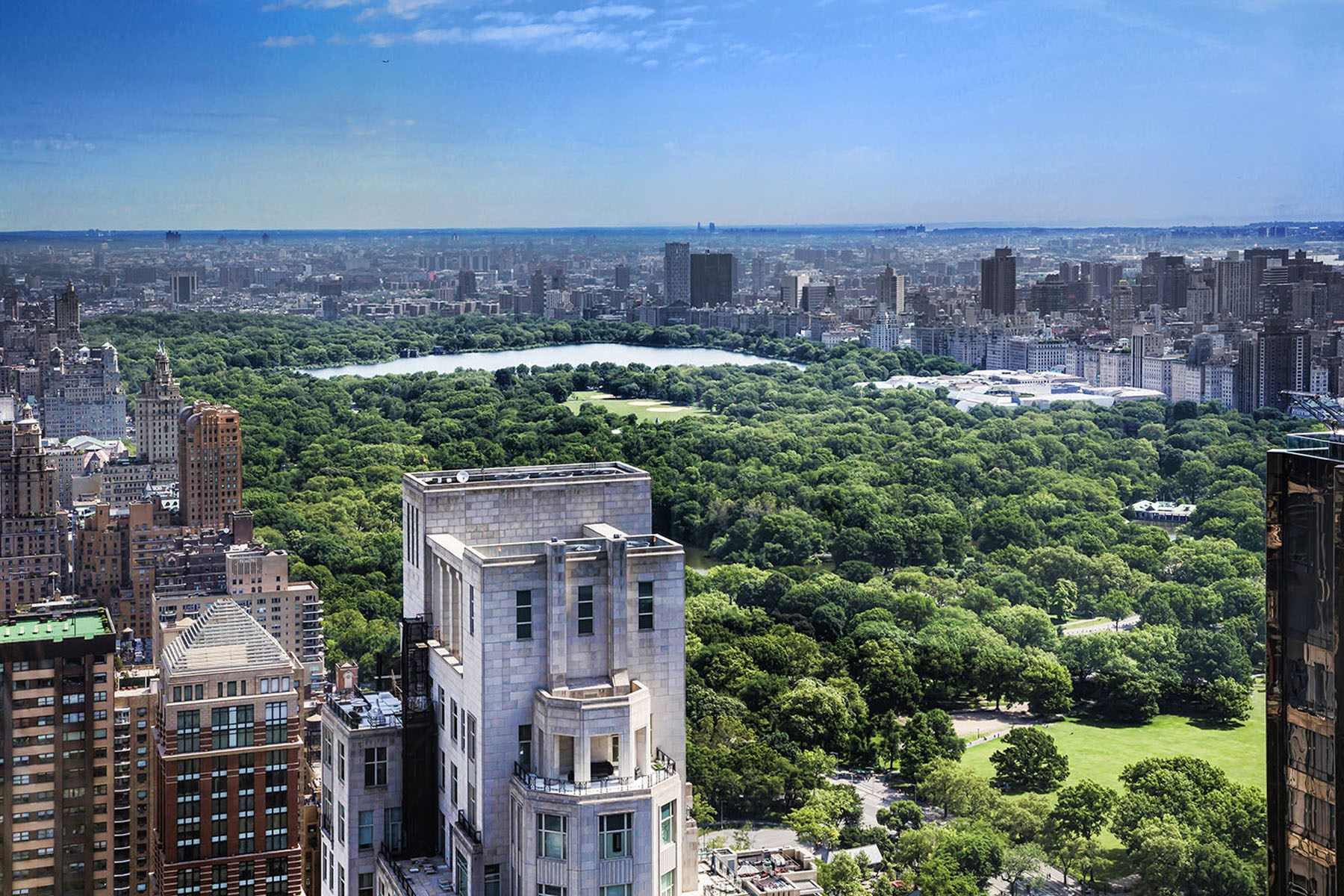 Кондоминиум для того Продажа на The Residences Mandarin Oriental 75C/75E 80 Columbus Circle Apt 75C/75E Upper West Side, New York, Нью-Йорк, 10023 Соединенные Штаты