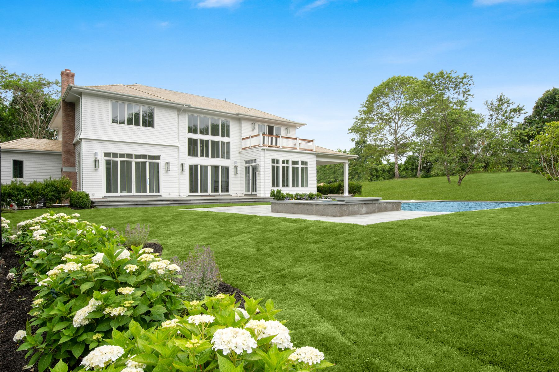 Single Family Home for Active at NEW CONSTRUCTION WITH TENNIS 2148 Scuttle Hole Road Bridgehampton, New York 11932 United States