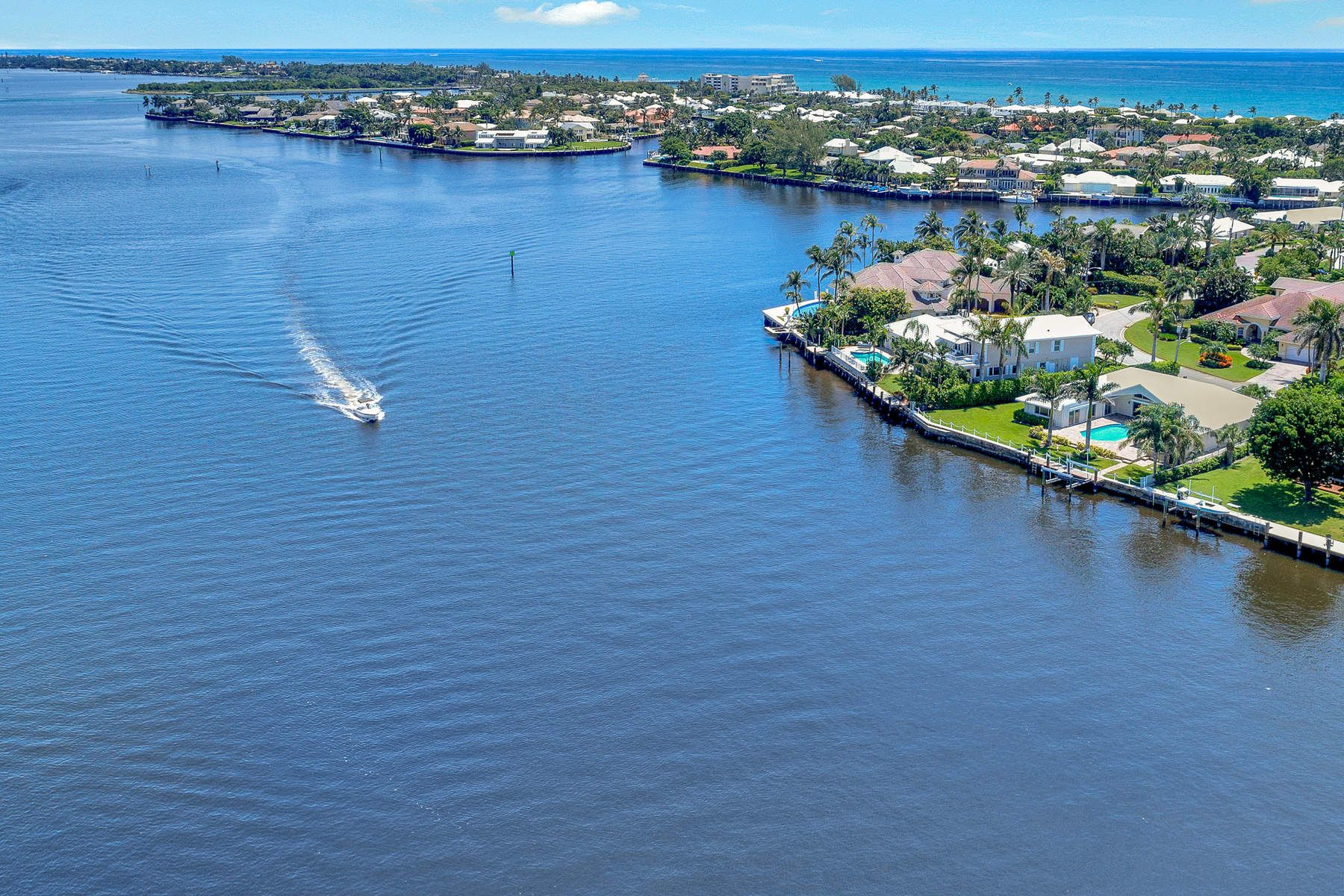 Single Family Homes for Sale at Spectacular Waterfront Ocean Ridge 52 Spanish River Dr Ocean Ridge, Florida 33435 United States