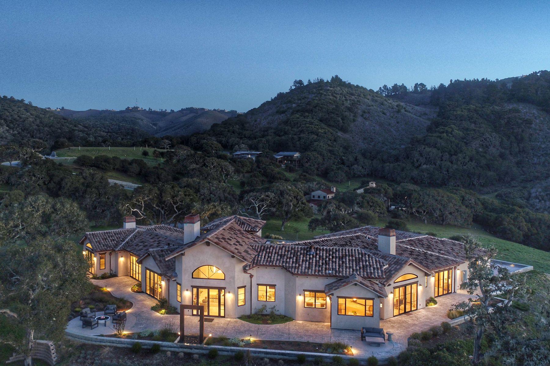 Single Family Homes for Sale at Sublime Contemporary Estate in Monterra 8320 Vista Monterra Monterey, California 93940 United States