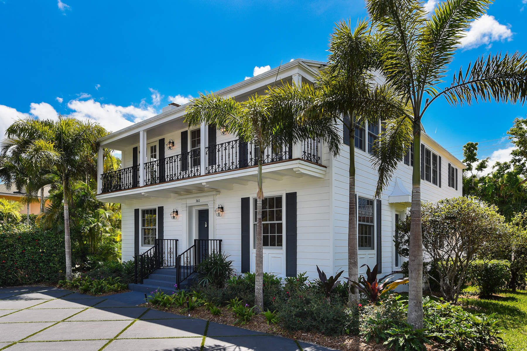 Single Family Home for Sale at Stunning New Palm Beach Renovation 360 Seaspray Ave Palm Beach, Florida 33480 United States