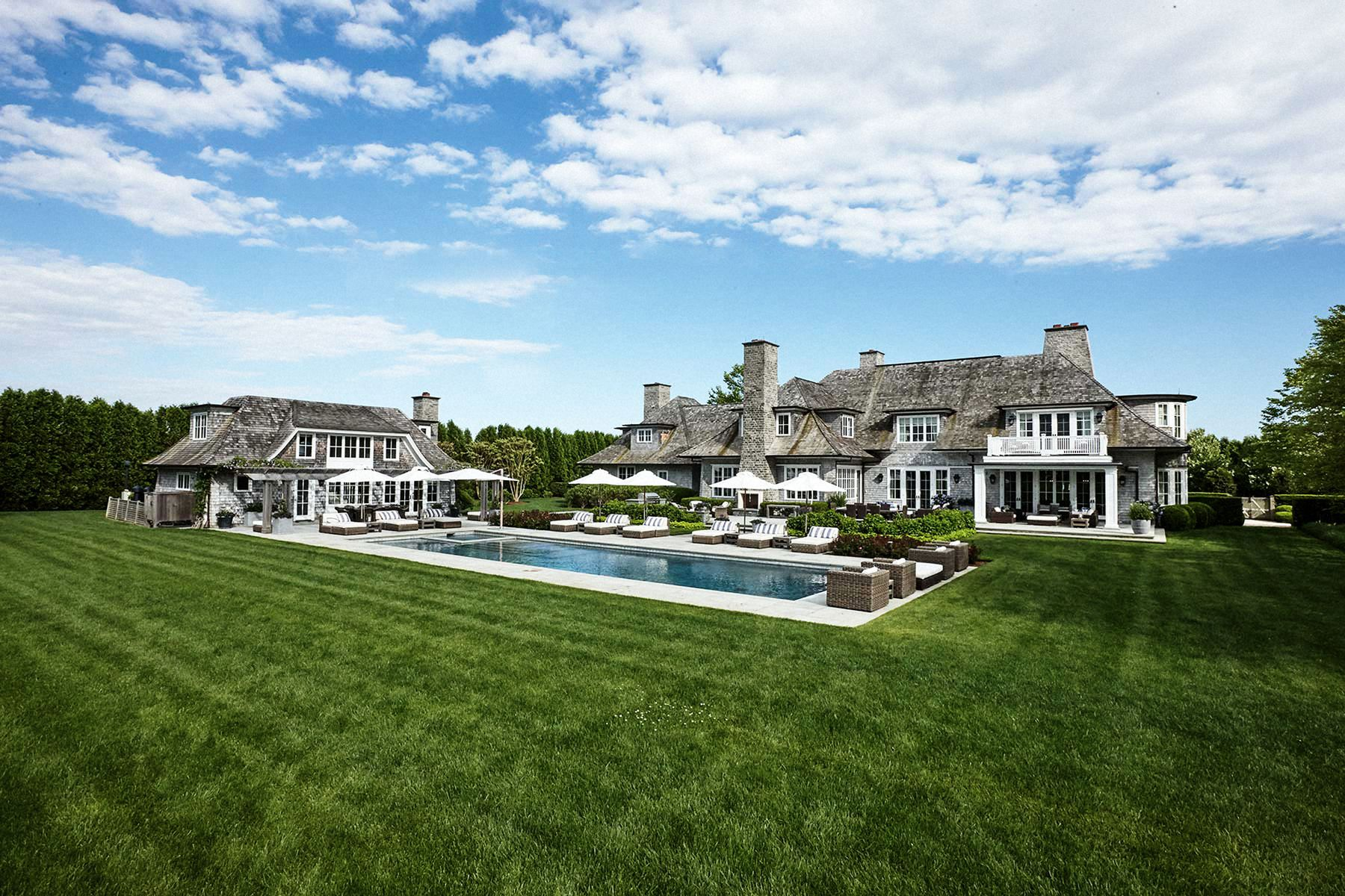 Single Family Home for Active at SAGAPONACK SOUTH COMPOUND ON 7.5 ACRES Sagaponack, New York 11962 United States