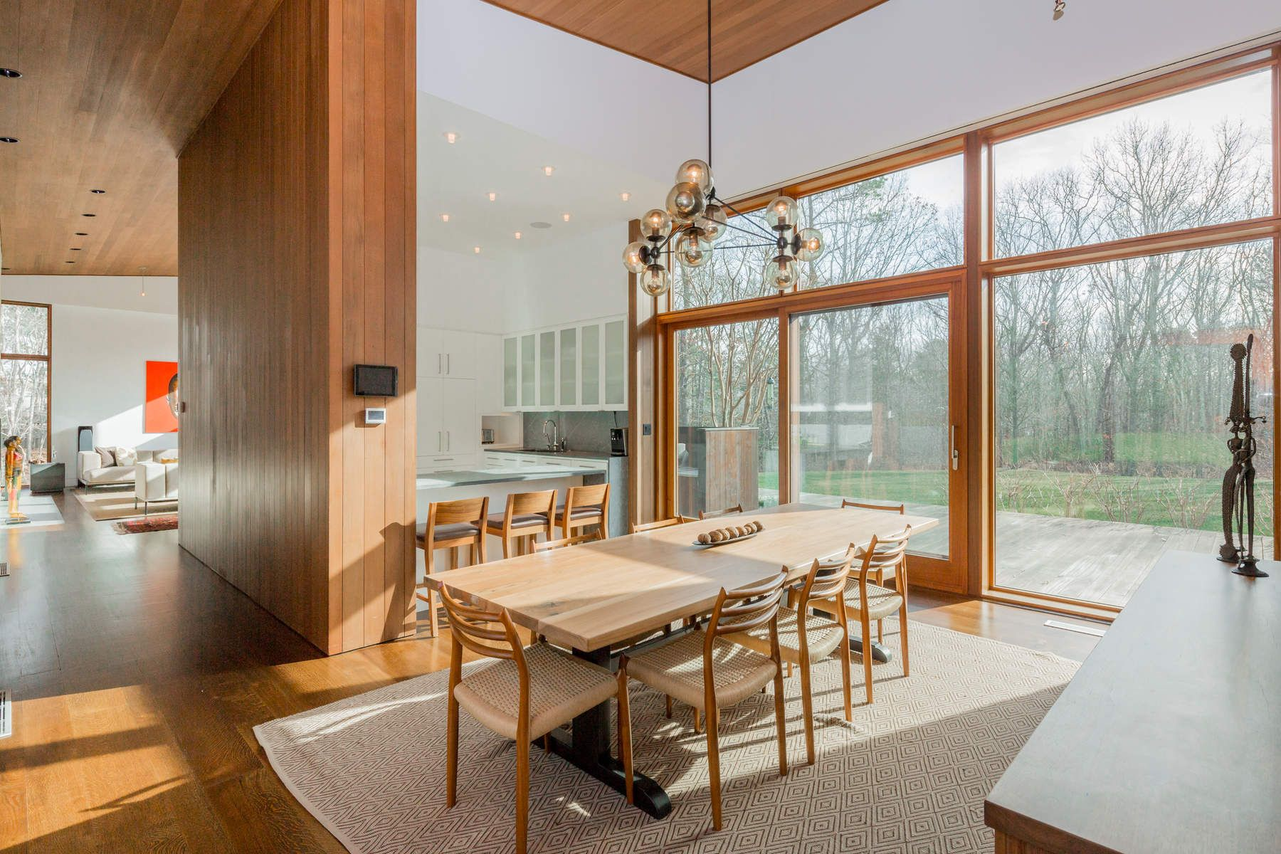 Single Family Home for Rent at Stunning Glass Modern in Water Mill Water Mill, New York 11976 United States
