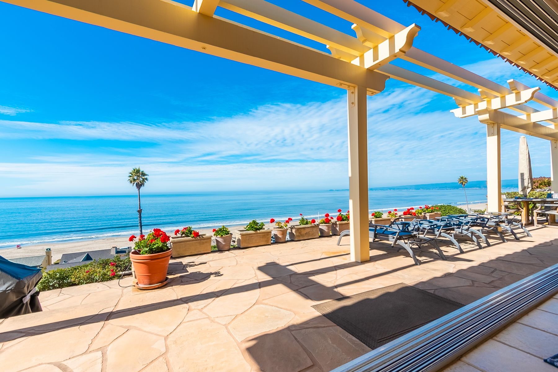 Single Family Homes for Sale at Stunning Ocean View Palace by the Sea 135 Via Concha Aptos, California 95003 United States