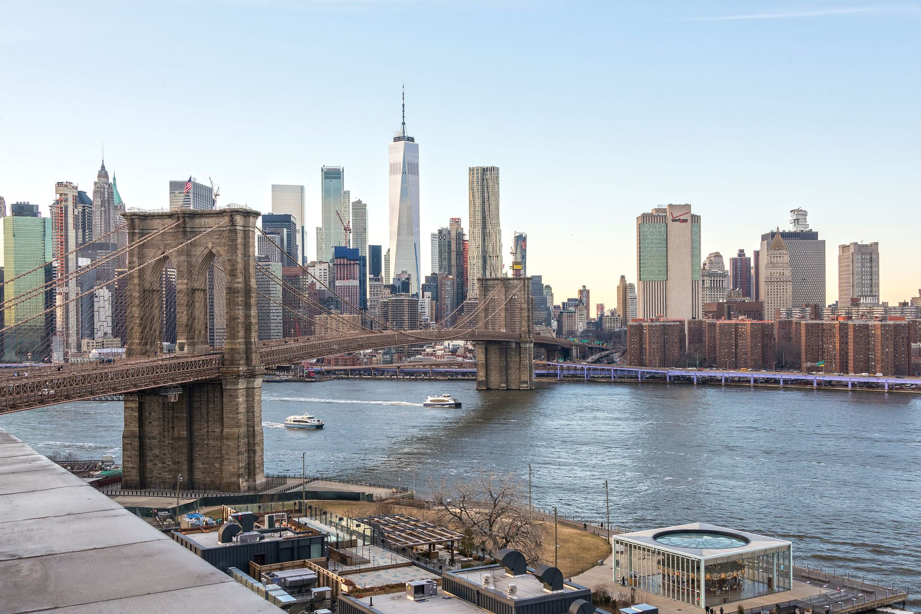 Condominiums für Verkauf beim Penthouse Masterpiece w/ Incredible View 30 Main Street PHB, Brooklyn, New York 11201 Vereinigte Staaten