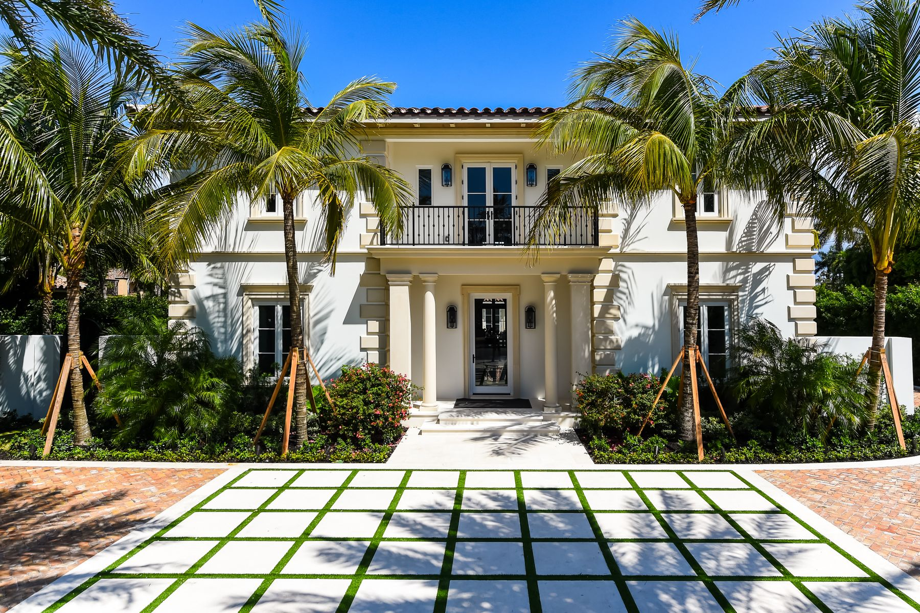 Single Family Homes for Sale at 201 Dunbar Road Palm Beach, Florida 33480 United States